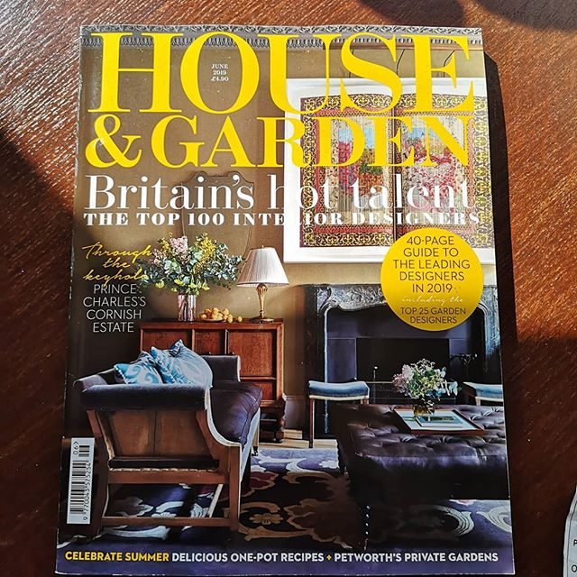Finally managed to pick up a copy of this month @houseandgardenuk.  Chuffed to see The Cartwright and my Candlesticks in amongst some great work. Both available to buy through my website link in bio.  Huge thanks to @rutherton for including my work and pulling it all together so beatufully. Looks great. . . . . . . . #contemporarycraft #texture #carved #furniture #design #oak #ebonised #handmade #furnituredesigner #bespoke #interiors #interiordesign #britishdesigner  #handcraft #craft