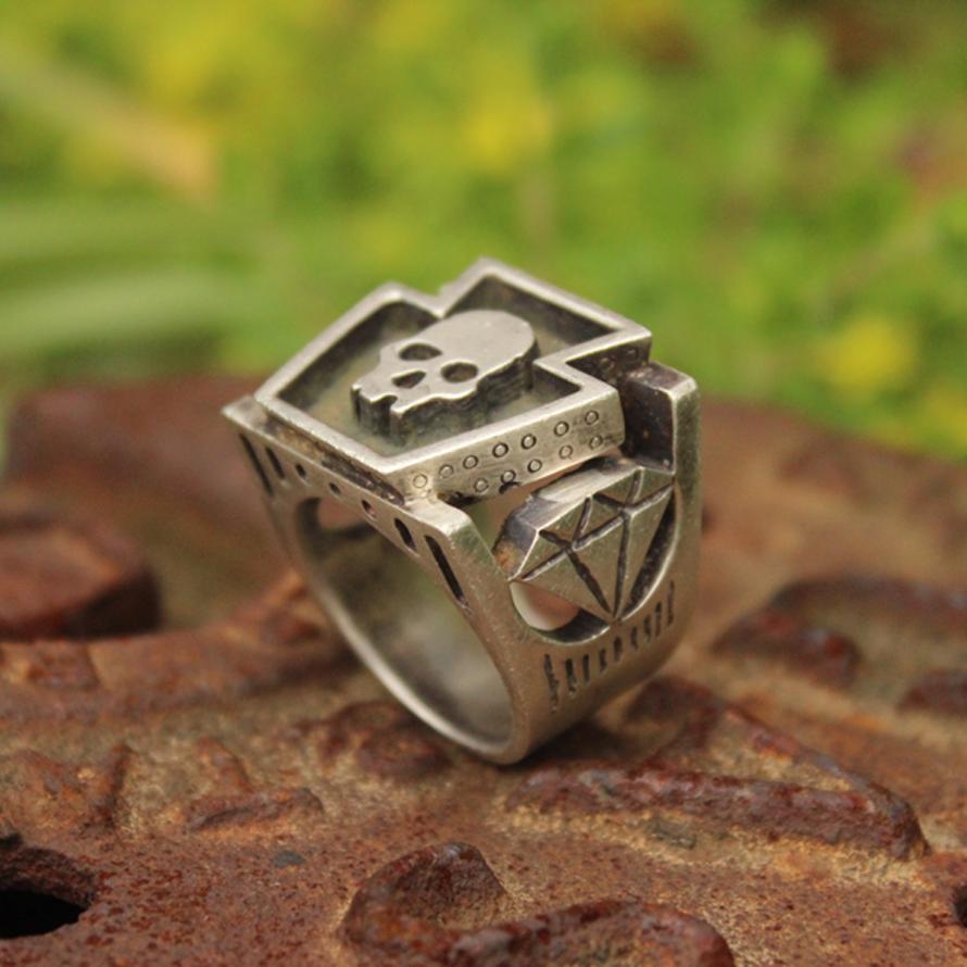 Keystone Skull Ring