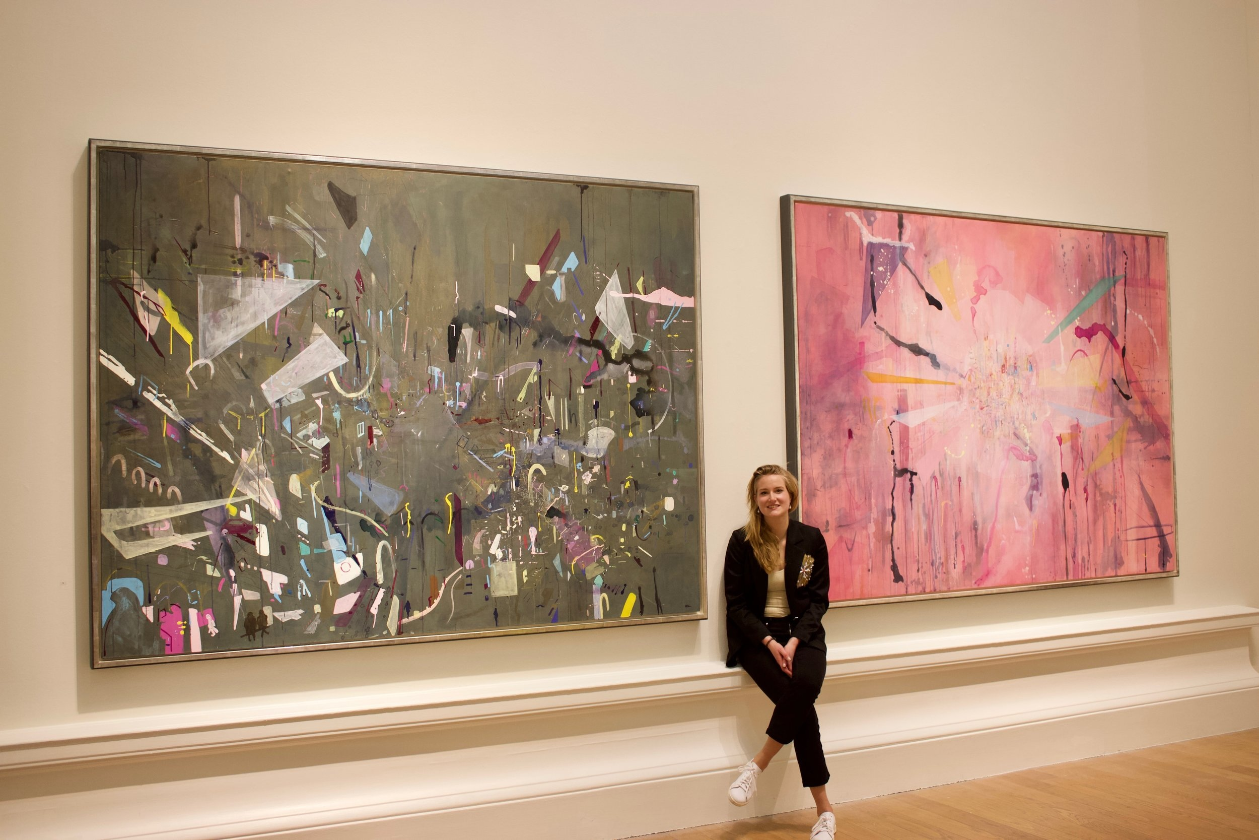 """Private Opening Night at the Royal Scottish Academy """"New Contemporaries"""", Scottish National Gallery 2018"""