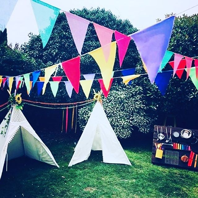 Festival Vibes 💜💛🧡💙💚❤️ After meeting this lovely family at 3ft a few weeks ago, we were so pleased to be able to recreate a little of those festival vibes to help celebrate Peggy's Blessing Day. A gorgeous set up for a gorgeous family! . . . #feativalvibes #childrensfestival #gardenparty #partyideas #partyinspiration #babyparty #baby #partyhire #sensoryplay #sensory #partyhireessex #childrensparty #essexparty #toddlersense #babysense #banysensory #funlearning #toddleractivity #essex