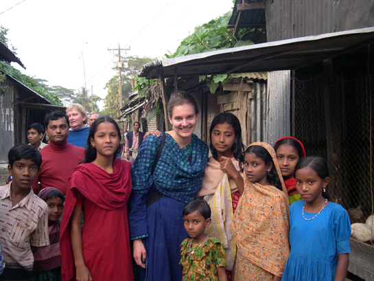 Young village women