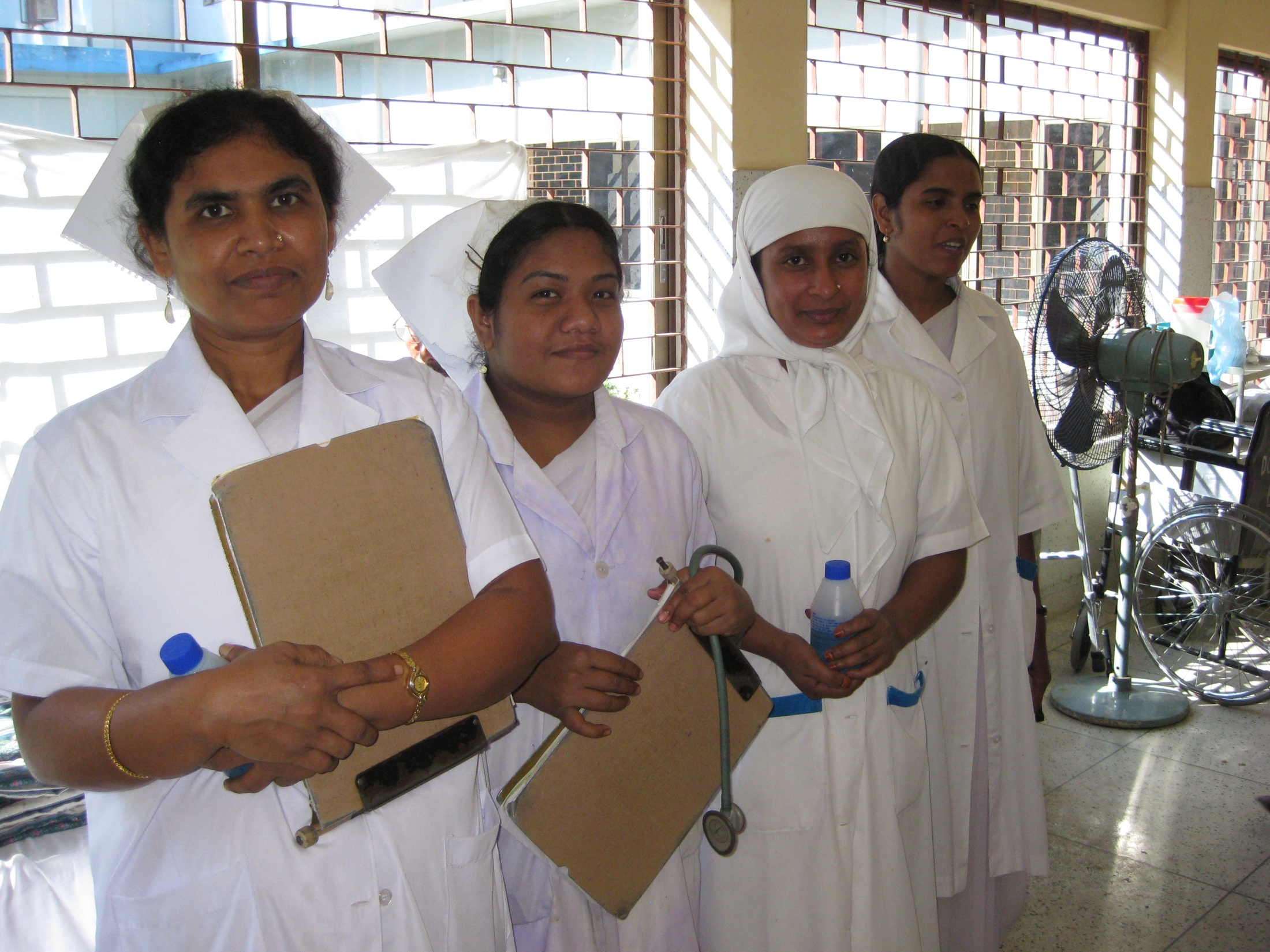 Medical Staff Salaries - There are 4 doctors, and 15 junior and senior nurses on the staff of LHCB. Most are married and support extended families. They provide patient care in the hospital, operating room, outpatient and mobile clinics, and are involved in patient education and Traditional Birth Attendant Training.