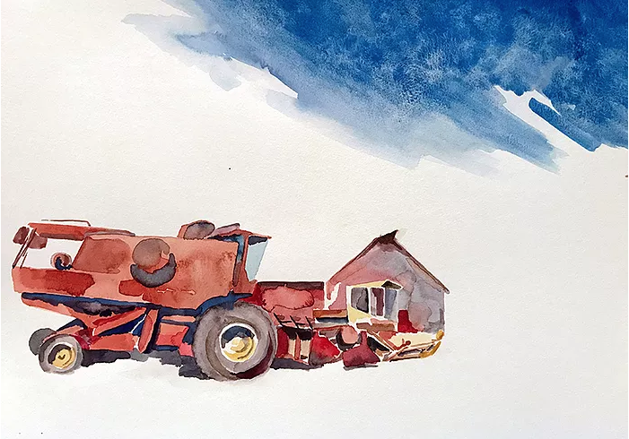 John Petr (Watercolor & Ink)