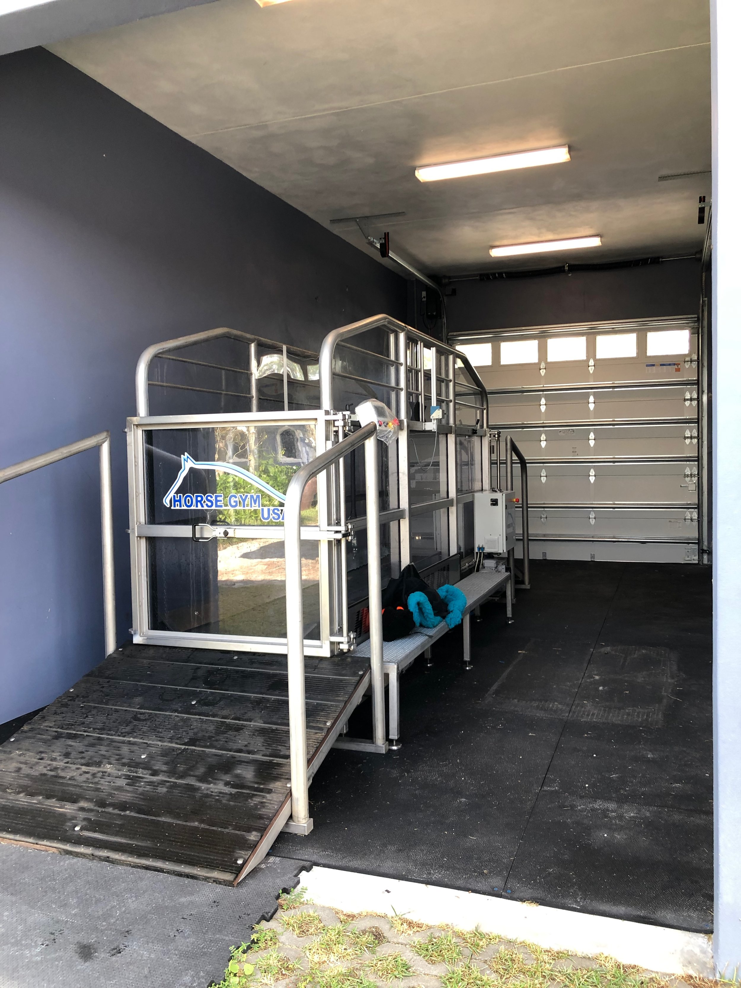 Horse Gym Usa - Aqua Trainer located at Fair Sky Farm in Loxahatchee, FL