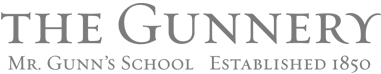The Gunnery - Mr. Gunn's School Word Logo.png