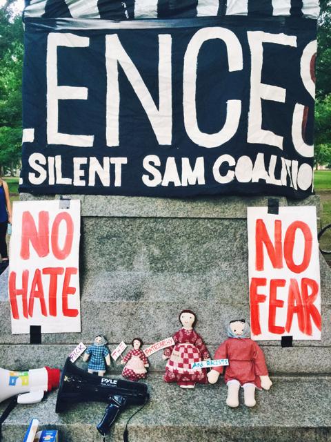 Silent Sam Sit-In (August 2017)