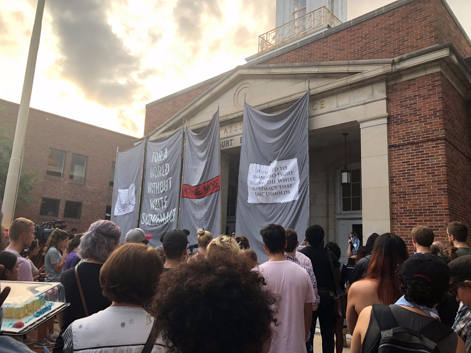 Banners at Not One Left Standing (August 2018)