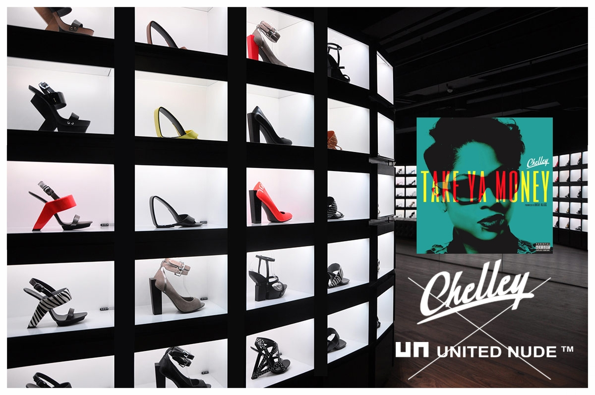 United Nude X Chelley - Brand Collaboration Campaign