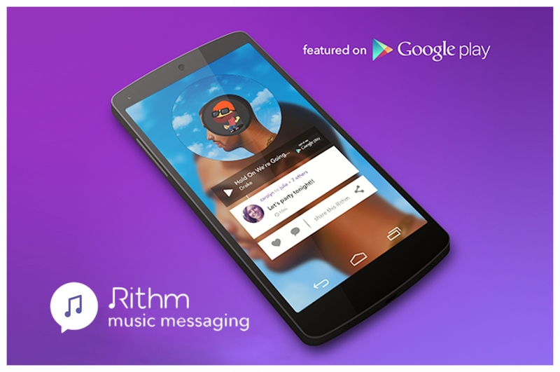 Rithm Music Messaging App - Experiential Marketing