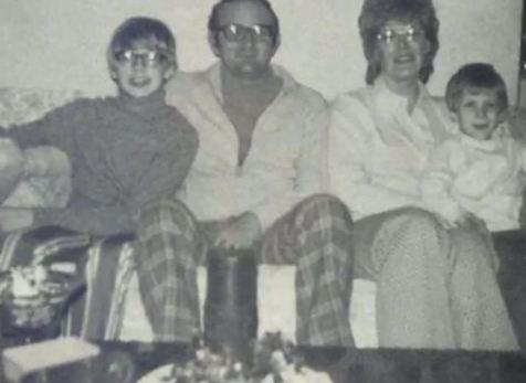 The Dahmer Family. (L-R, Jeffrey, Lionel, Joyce & David)