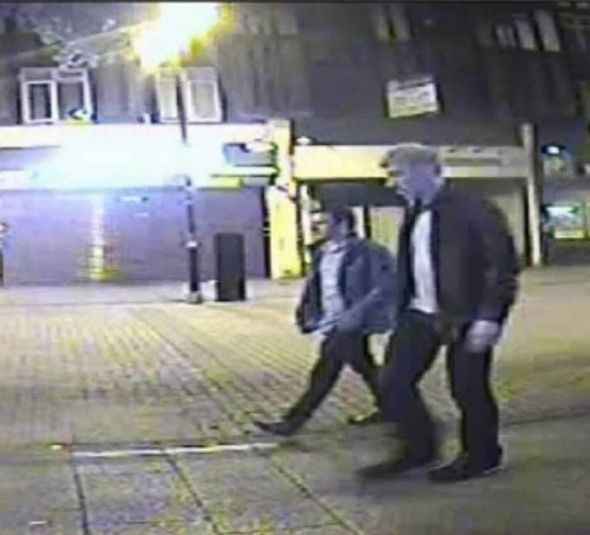 The CCTV footage that was integral in leading to Ports arrest.