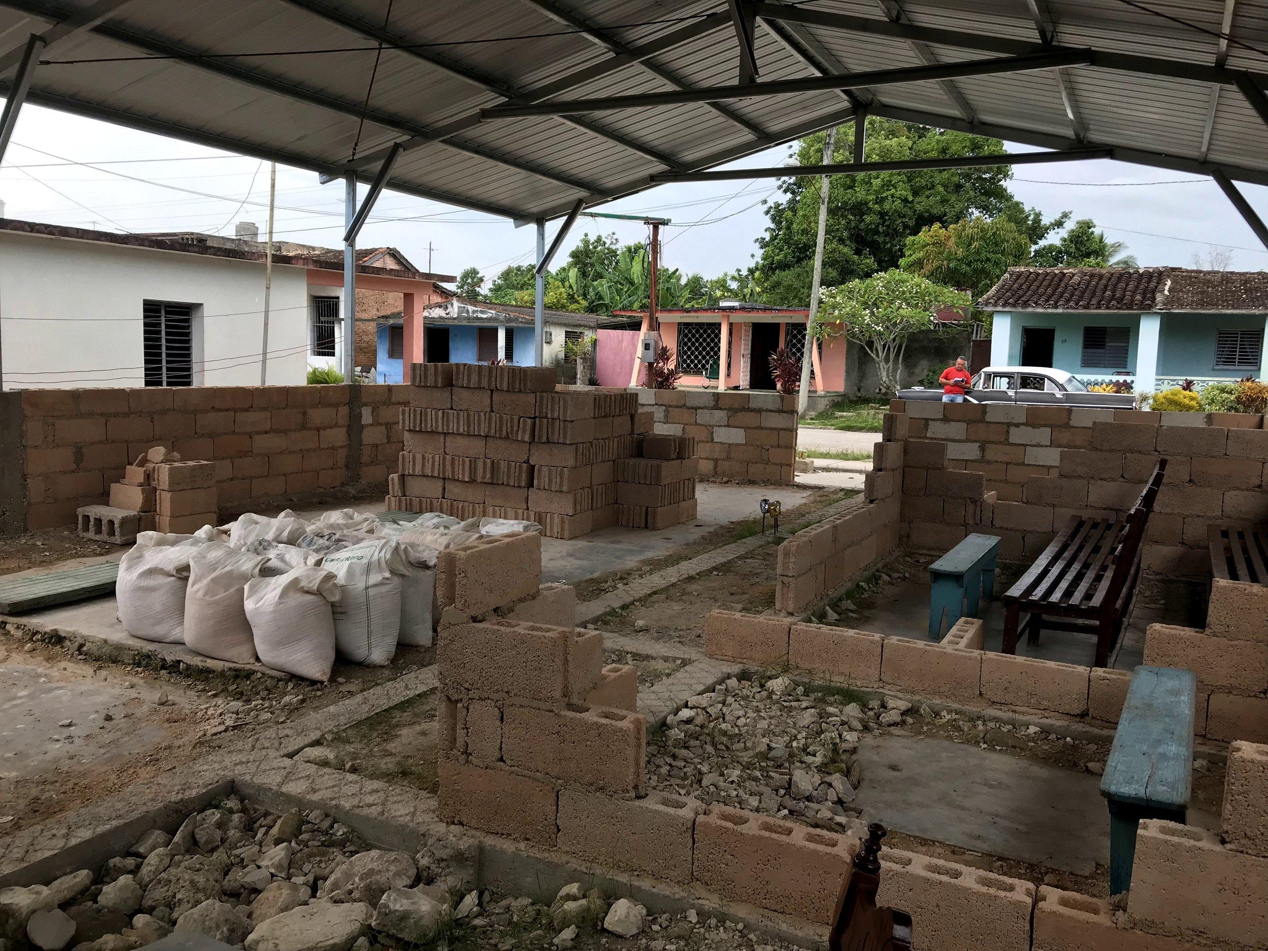 New Building Construction Underway