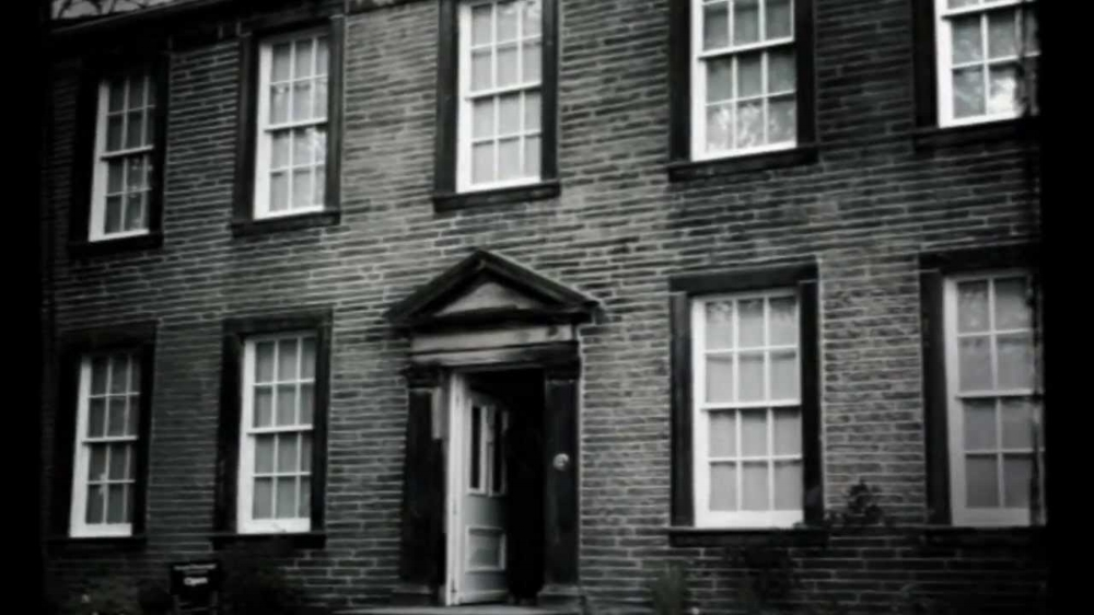Bronte Parsonage. Period Photo.  Bronte Parsonage Museum.
