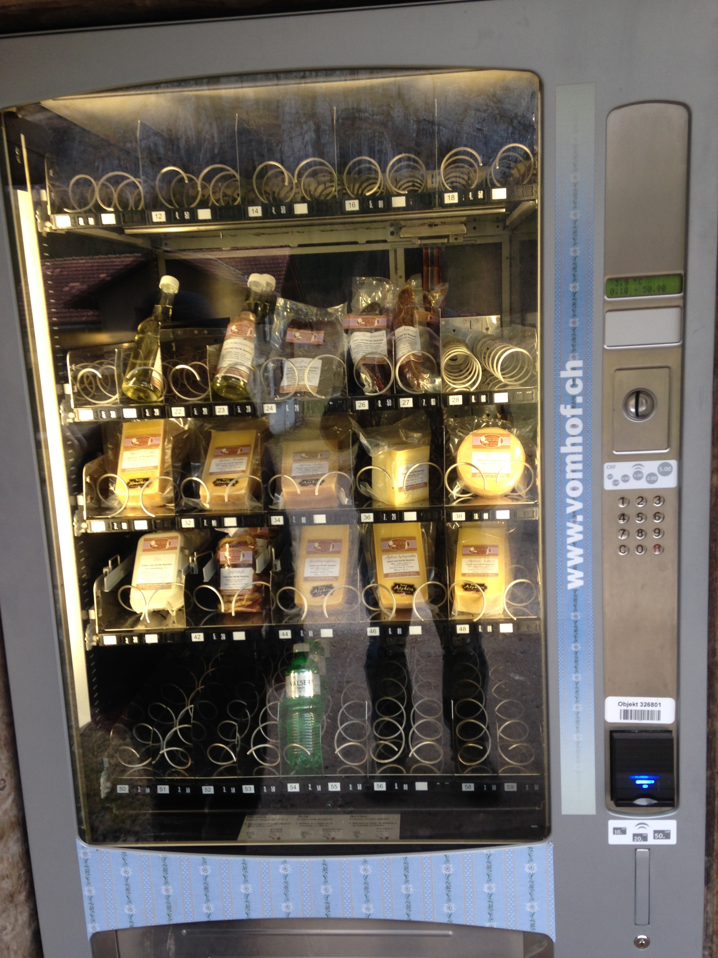. . . an outdoor cheese vending machine?