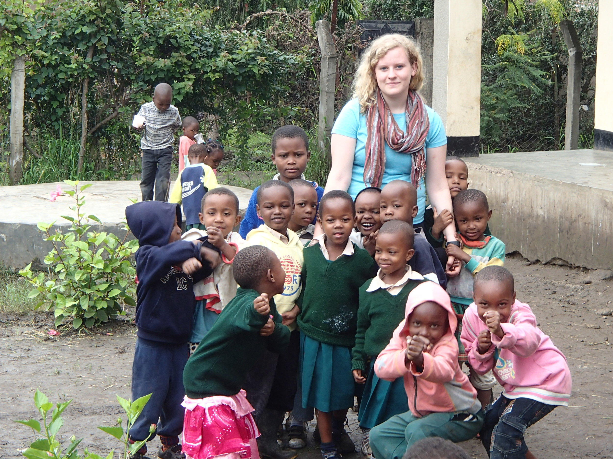 I got permission from the orphanage though.   www.afroplanfoundation.com