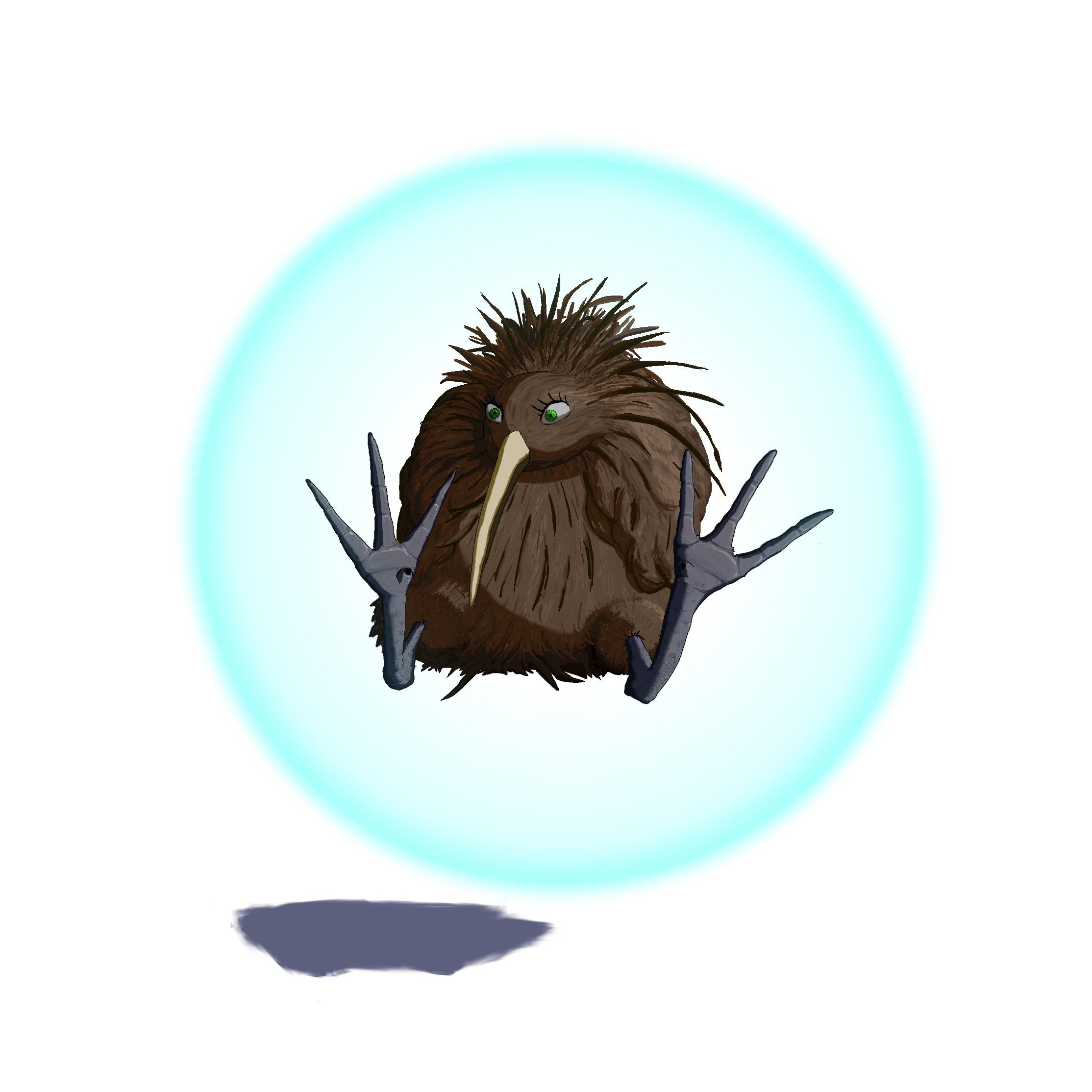 Kiwi in the Sphere