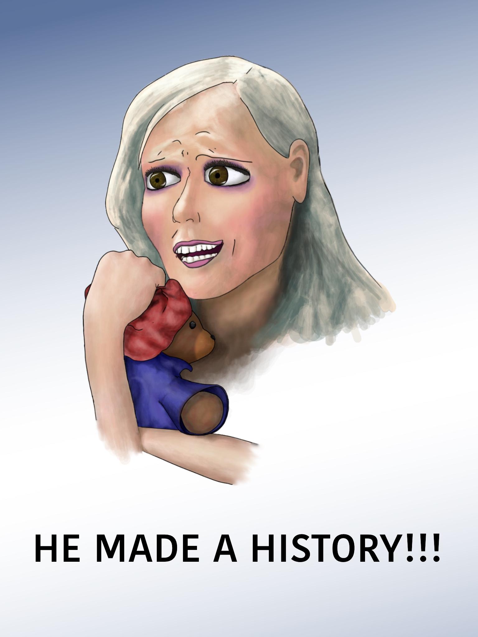 HE MADE A HISTORY!!!