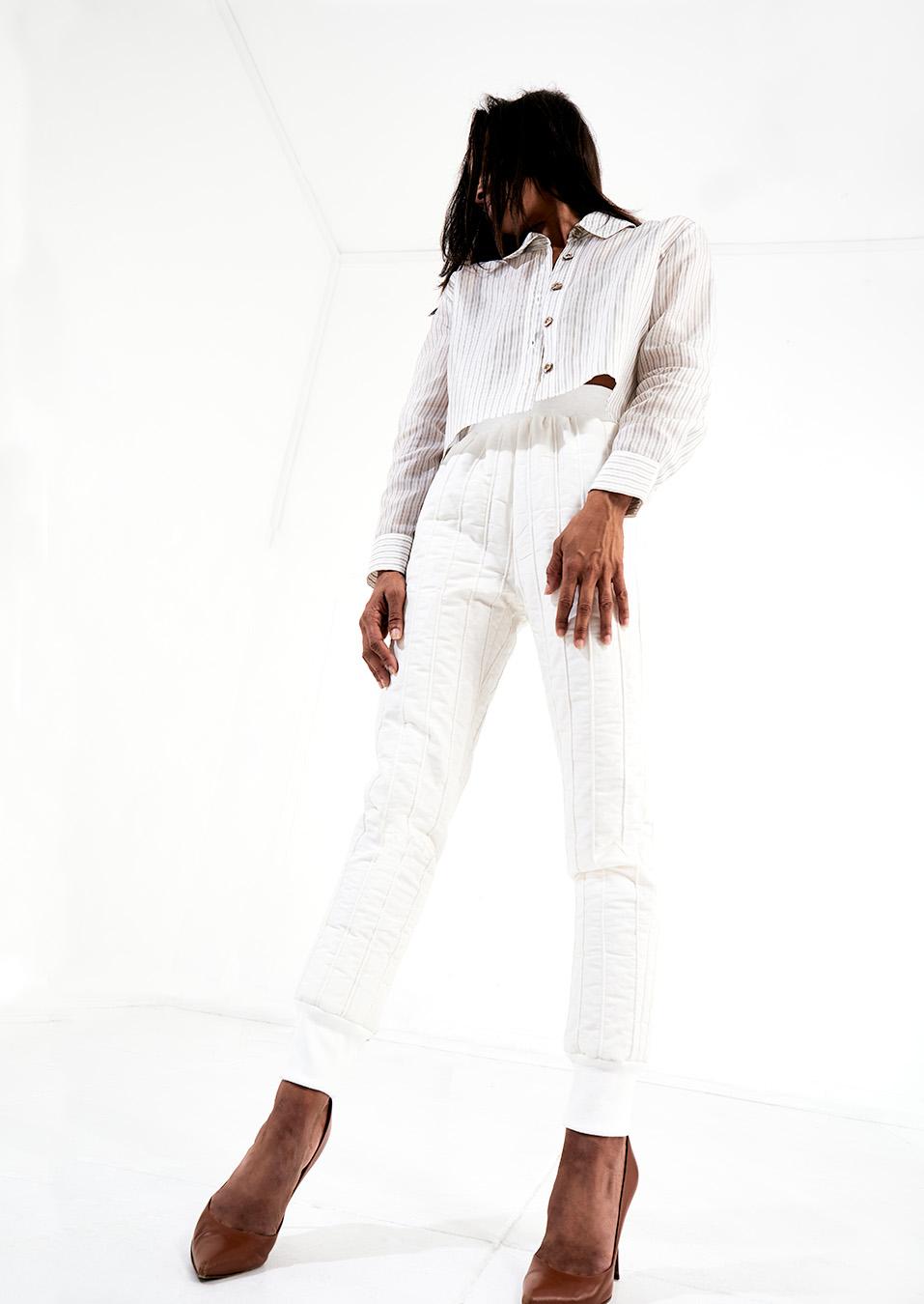 Bernard Douglas Cupro midi shirt