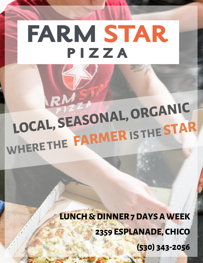 Farm Star Pizza Chico Ad