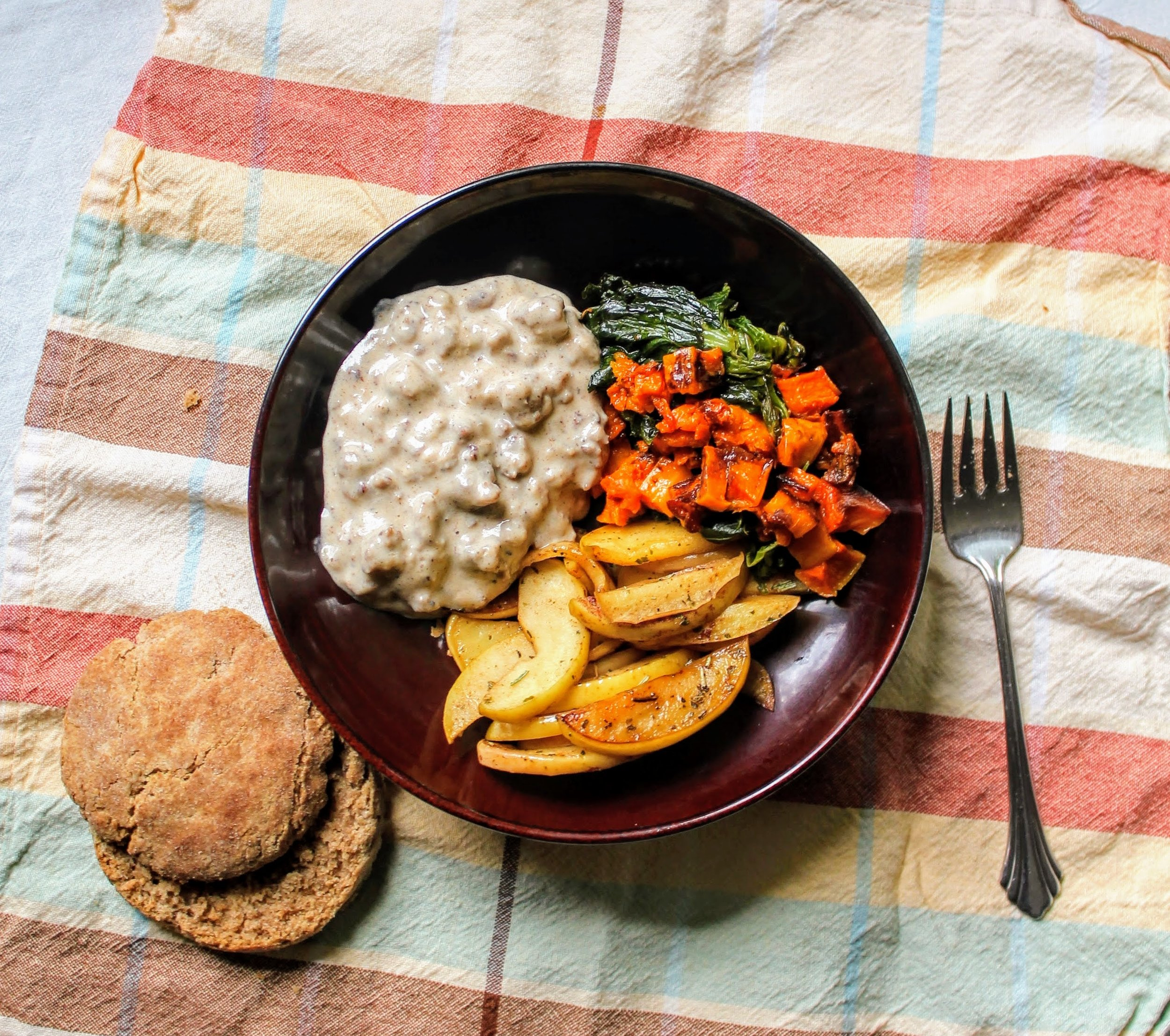 California Biscuits and Gravy