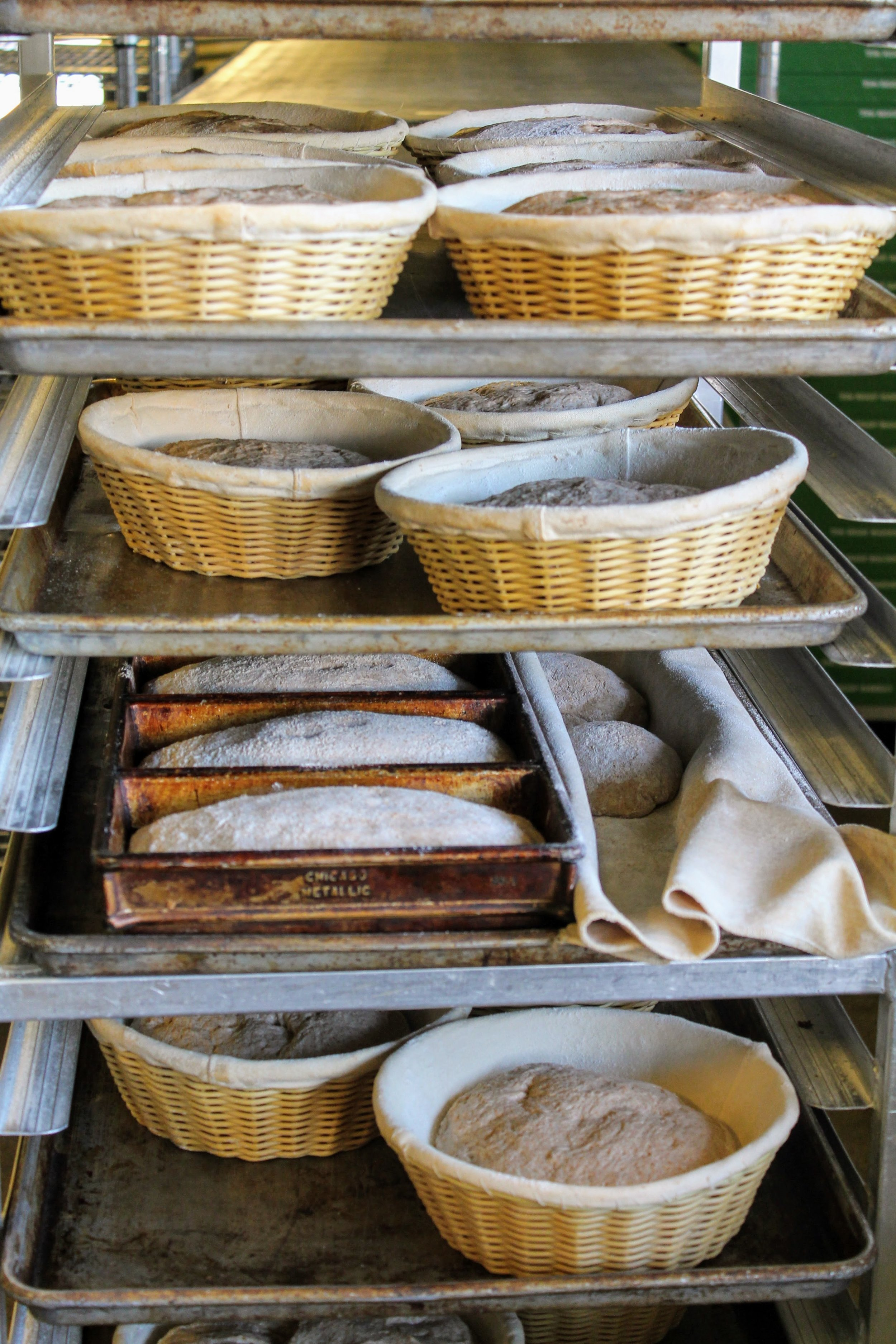 Sourdough Bread Proofing