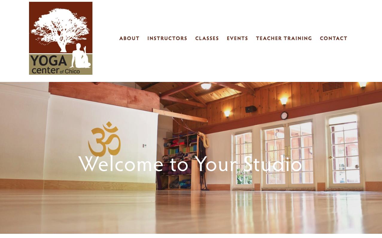 Website: Yoga Center of Chico