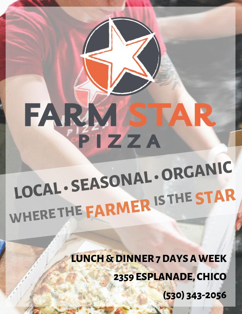 Advertisement: Farm Star Pizza