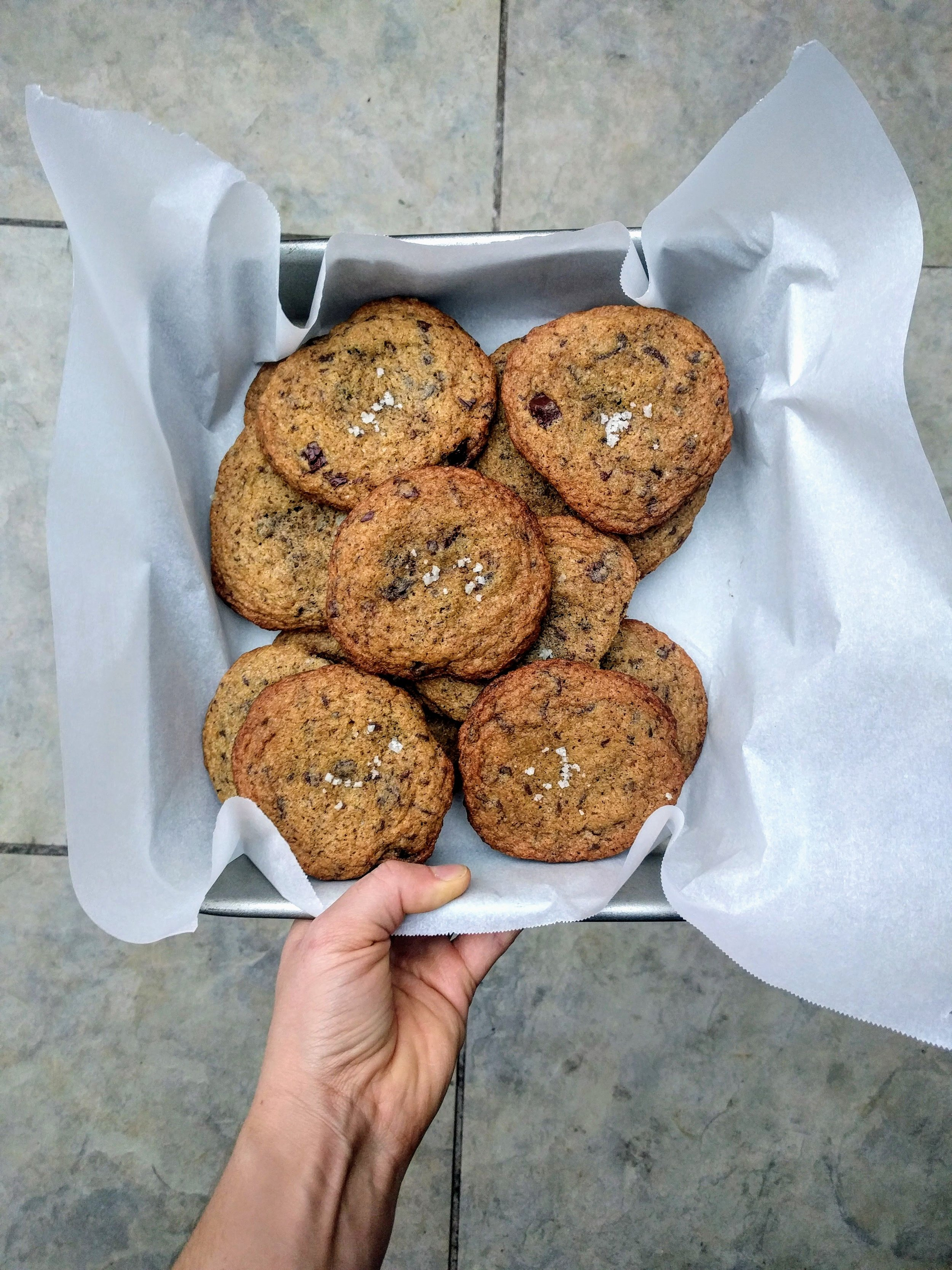 Emmer Chocolate Chip Cookies