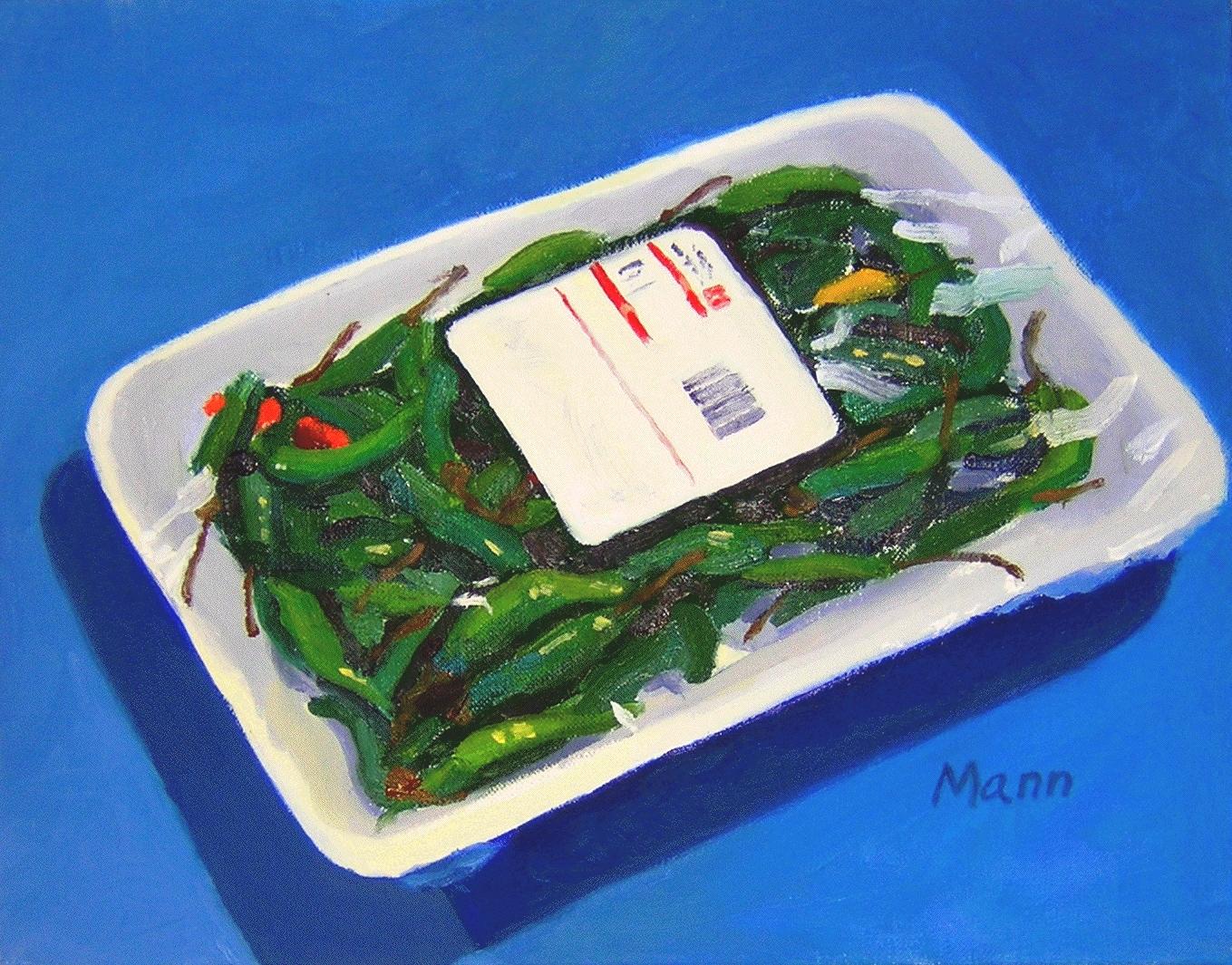 """Thai Peppers  oils, 11"""" x 14"""""""