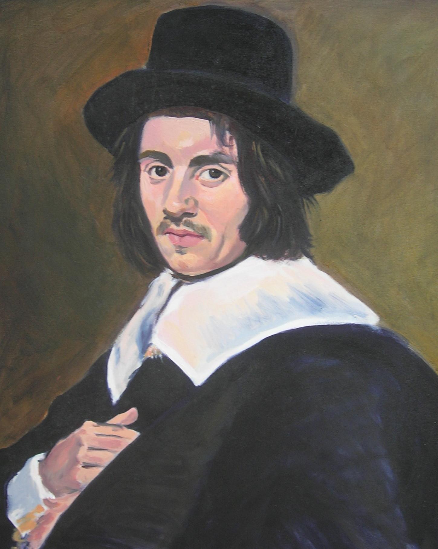 Copy after Frans Hals    Portrait of a Man