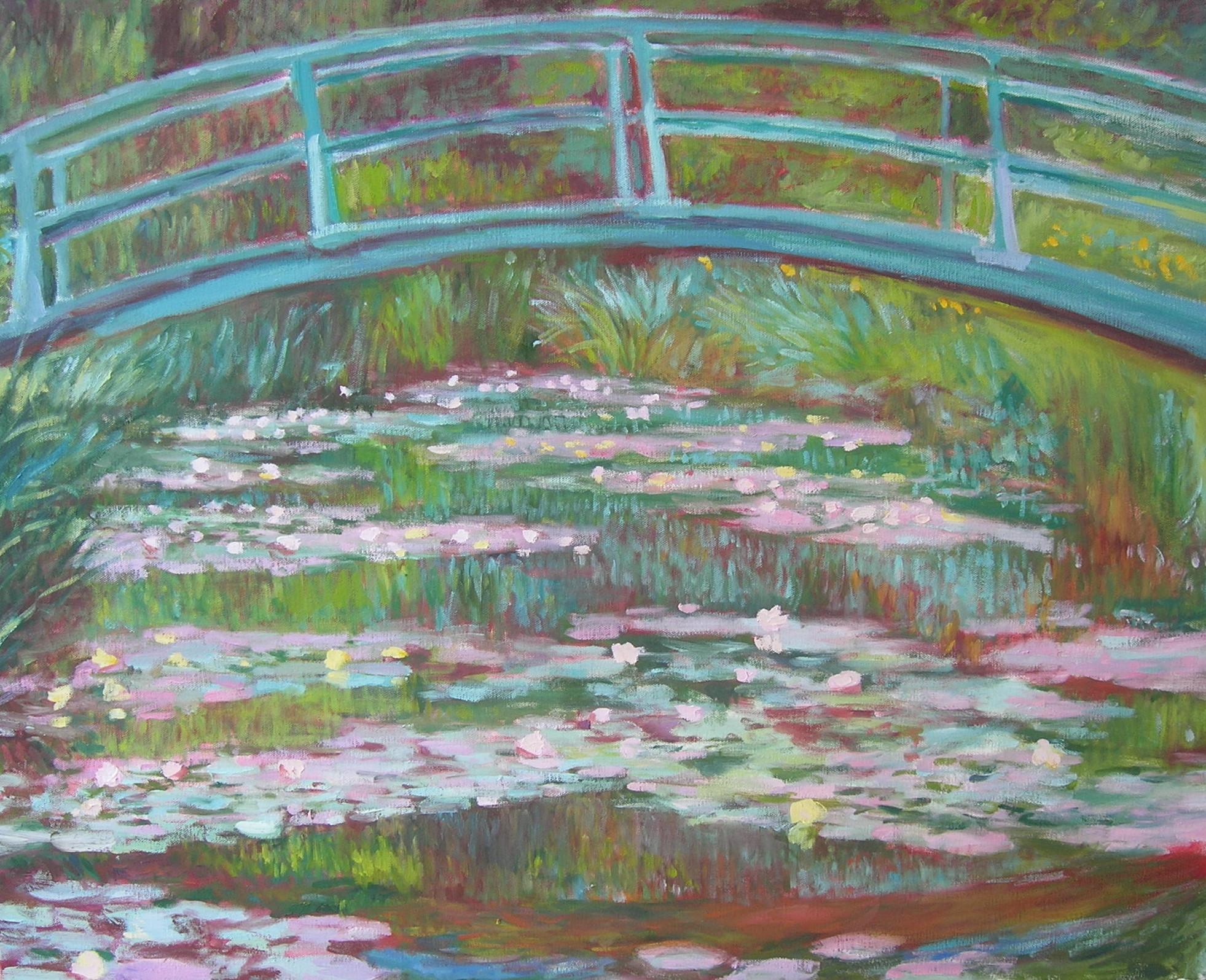 Copy after Claude Monet    The Japanese Footbridge