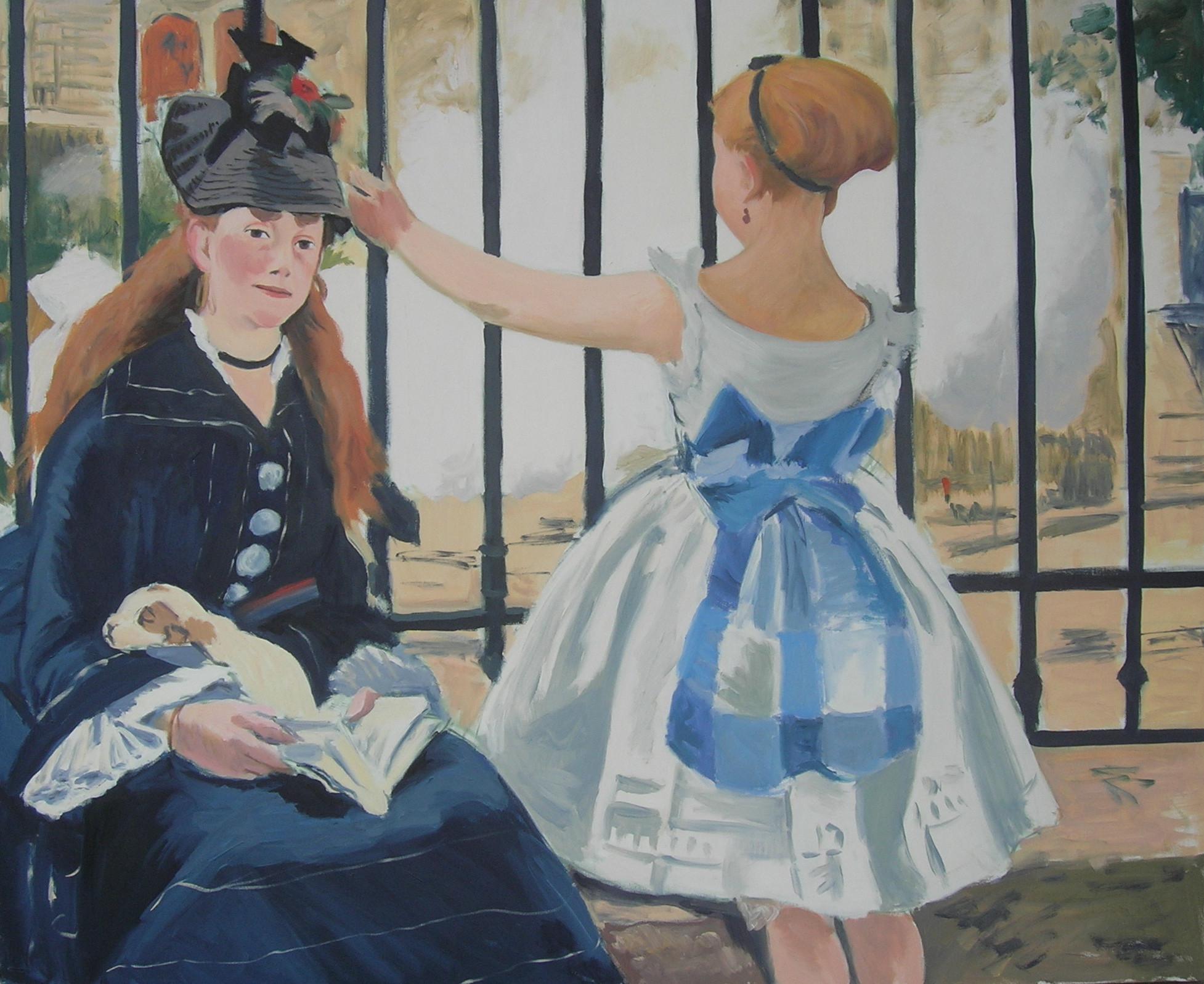 Copy after Edouard Manet