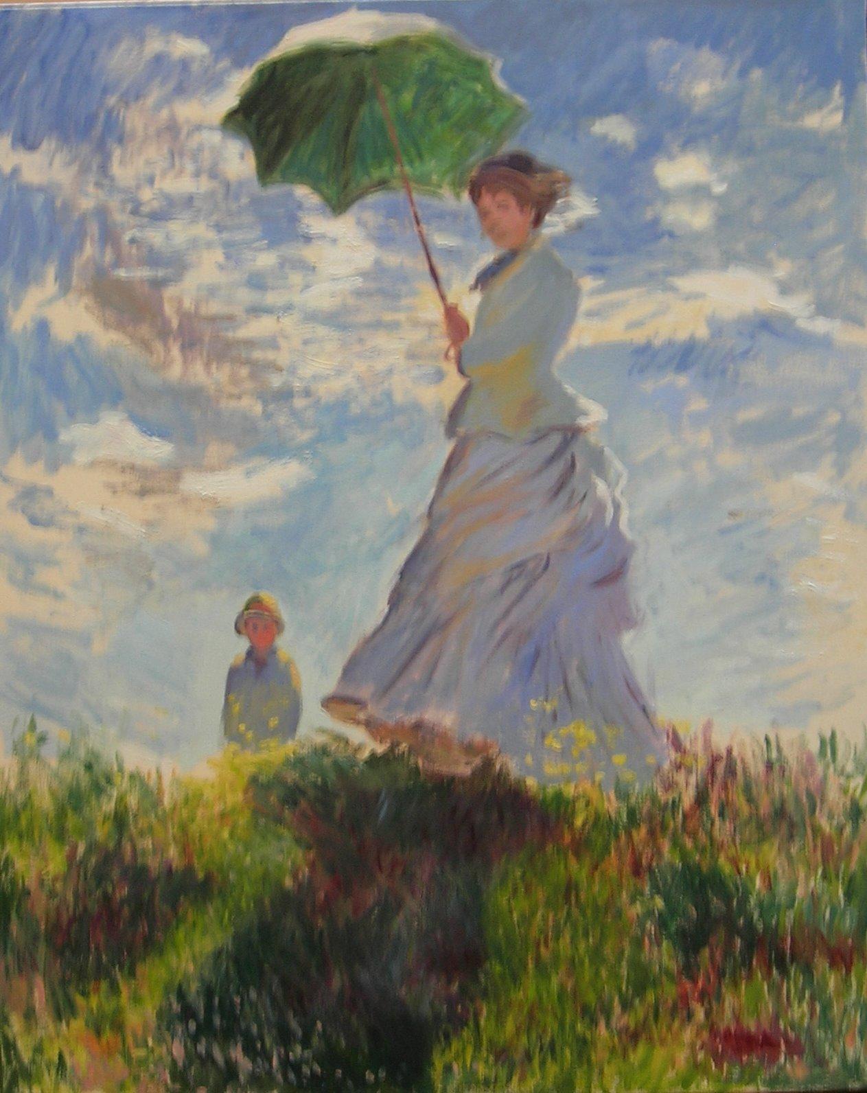 Copy after Claude Monet