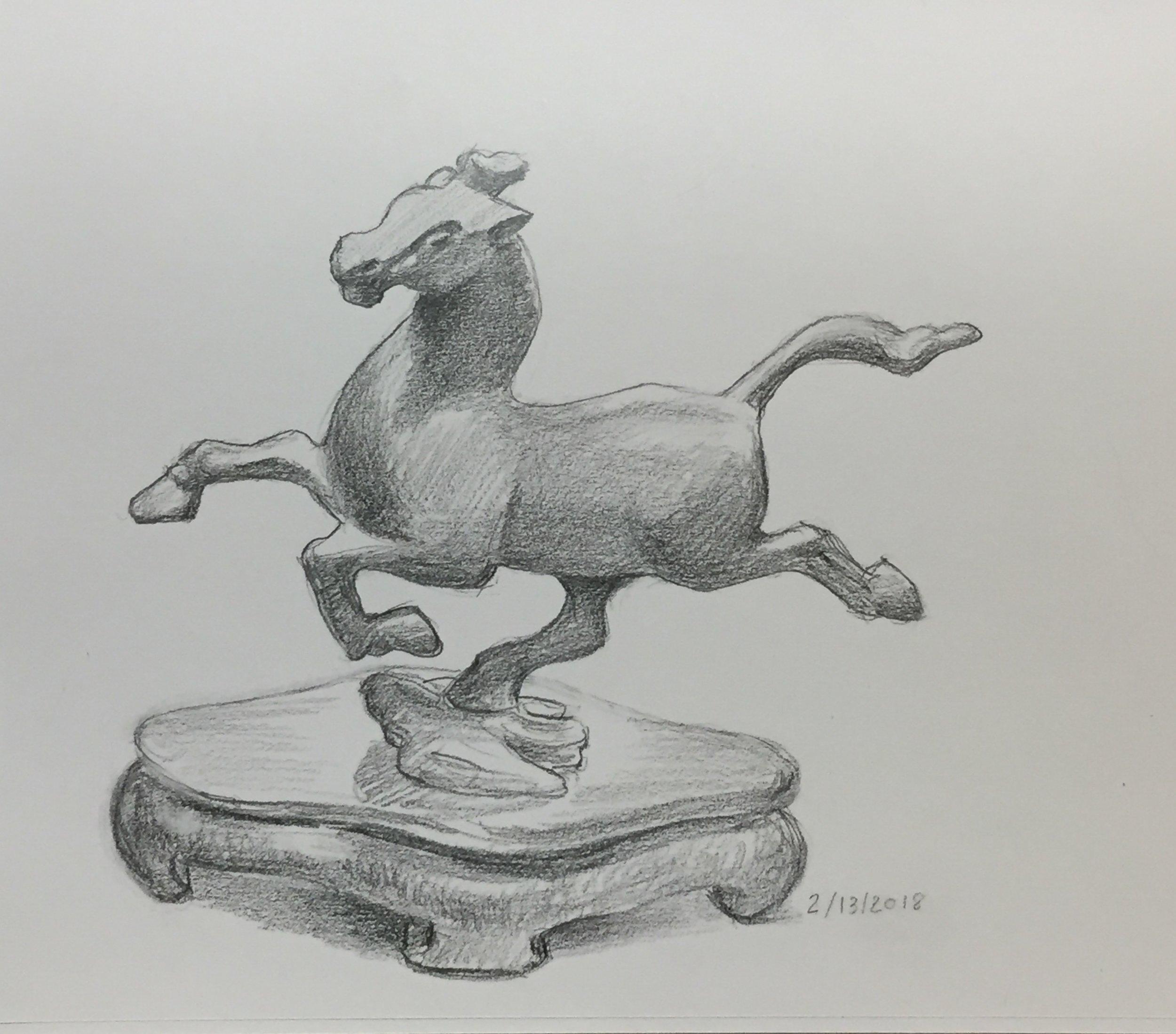 Running horse statue.jpeg
