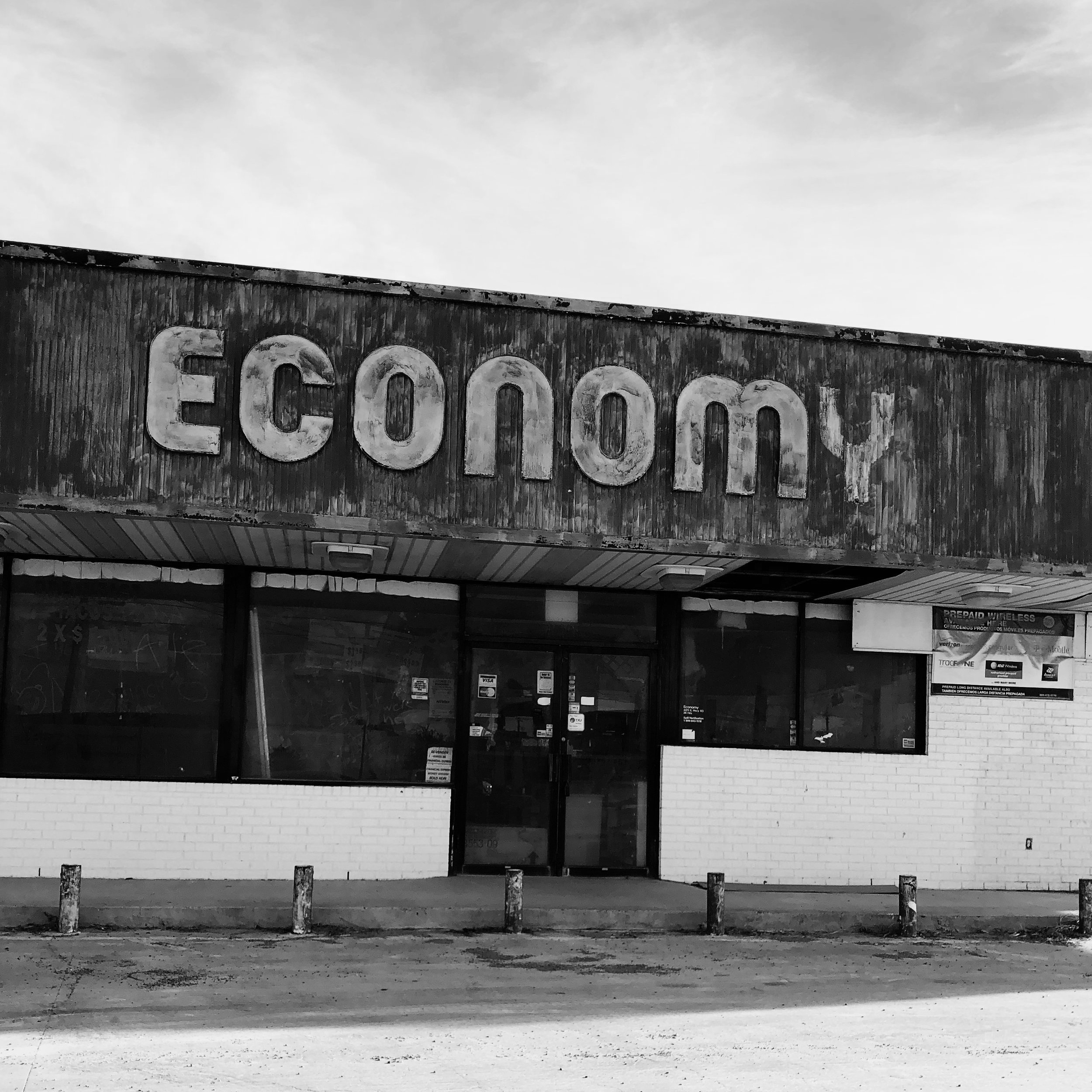 "The Economy - ""Now that we were in summer school, Ángel and I went to the Economy after class every day because it was run by Ángel's uncle Benny, this old school cholo who'd found Jesus in prison. The Economy had the best breakfast tacos around, papas a la mexicana, papas con huevo, beans and bacon, all the kinds that we liked."""