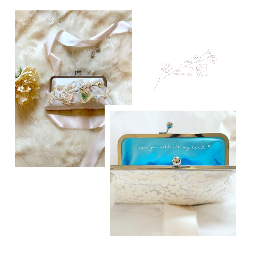 wedding purses white lace.jpg