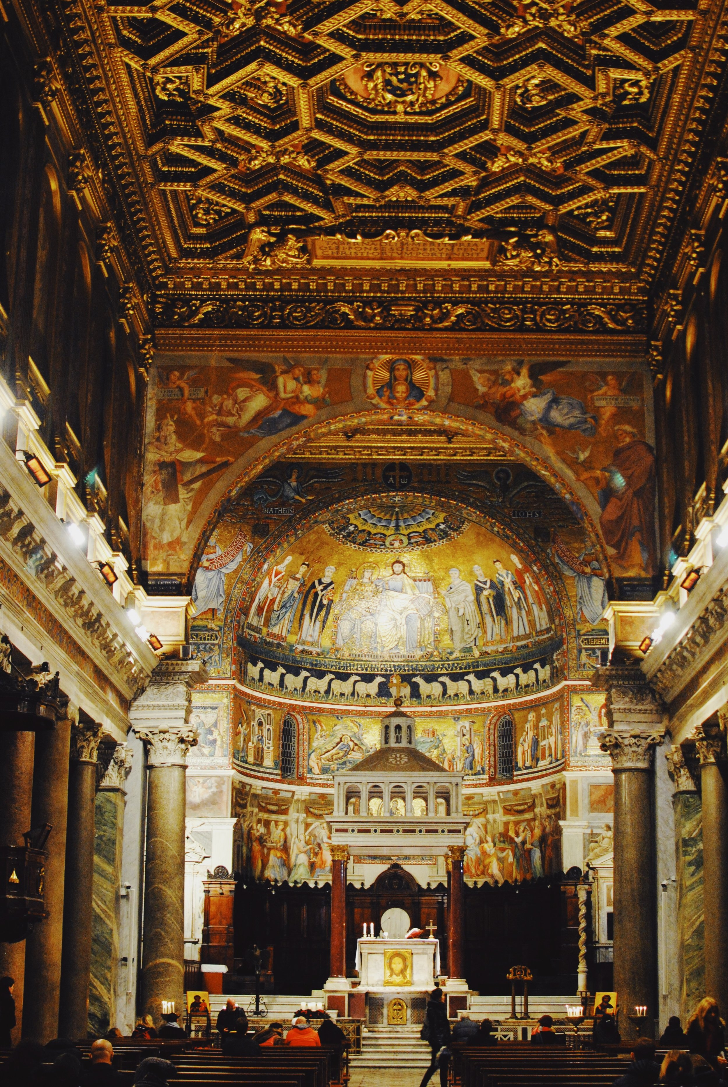 Basilica of Our Lady: The famous mosaics constructed in the 12th and 13th centuries
