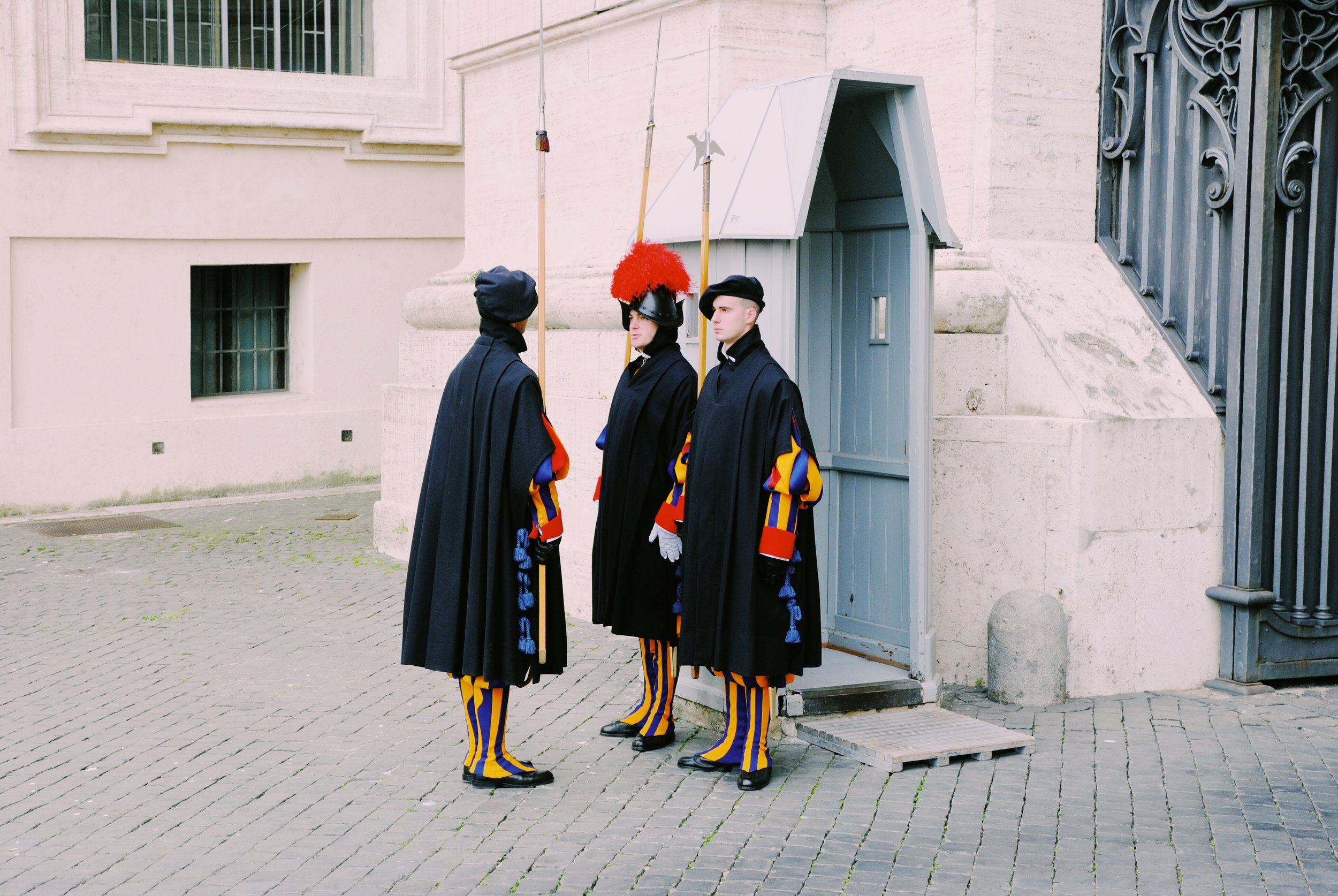 Pontifical Swiss Guard: Changing of the Guards