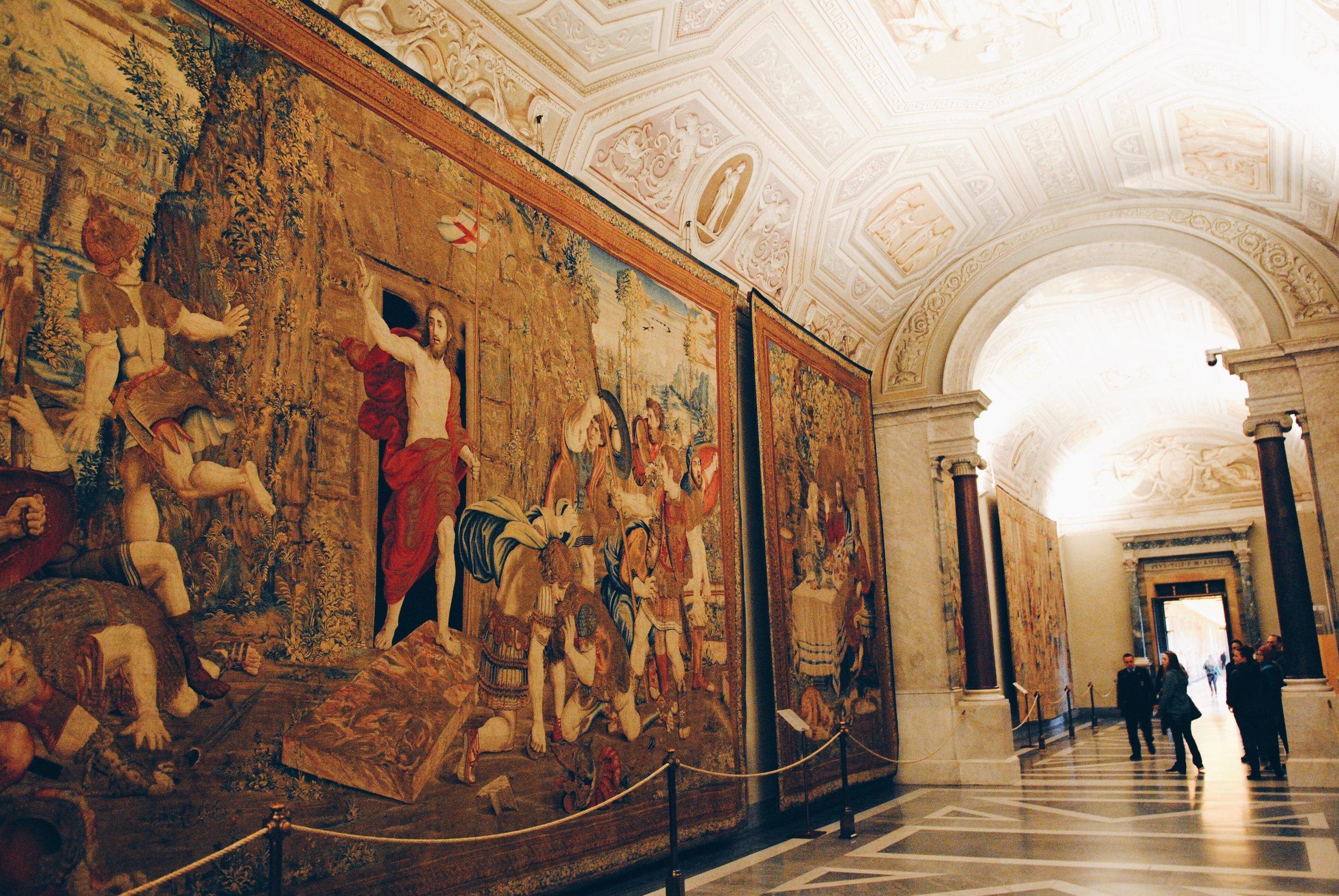 The Vatican: Tapestries Hall, Resurrection of Jesus
