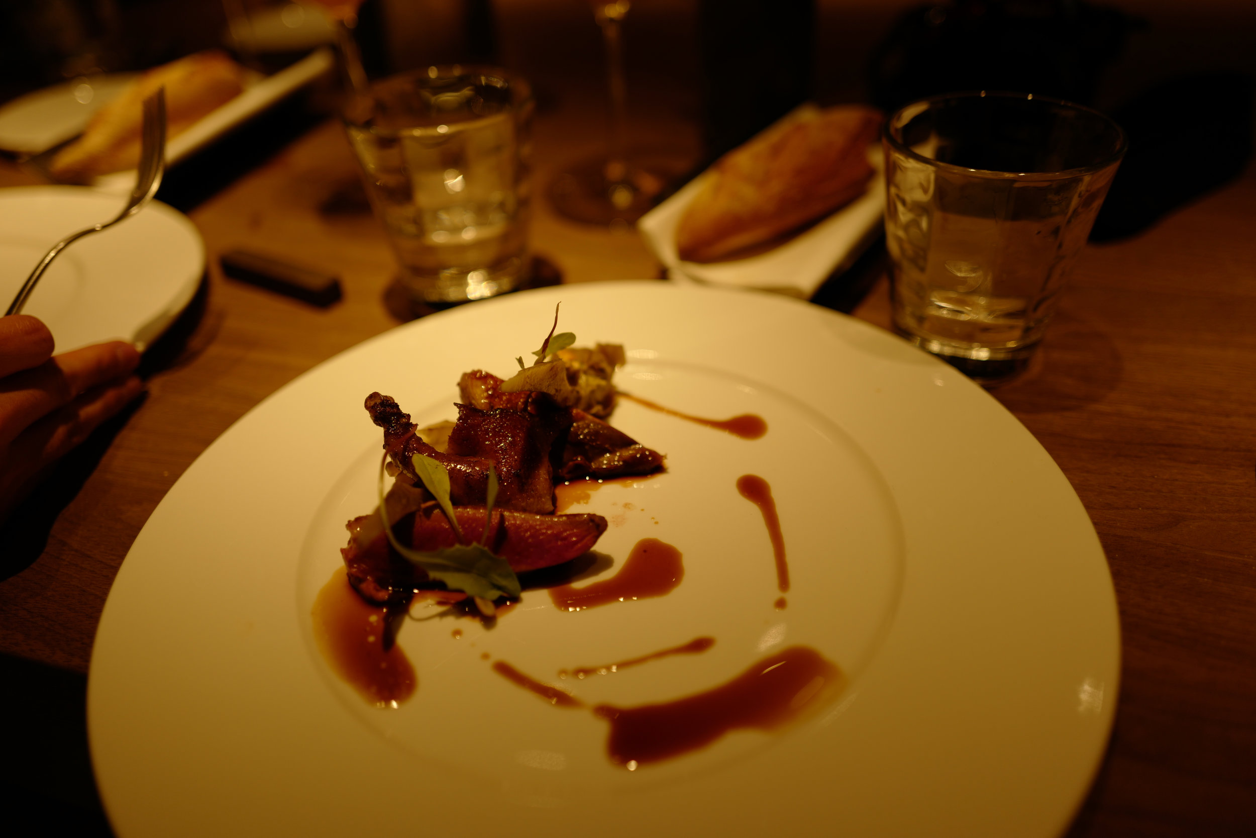 Pigeon course - very tender