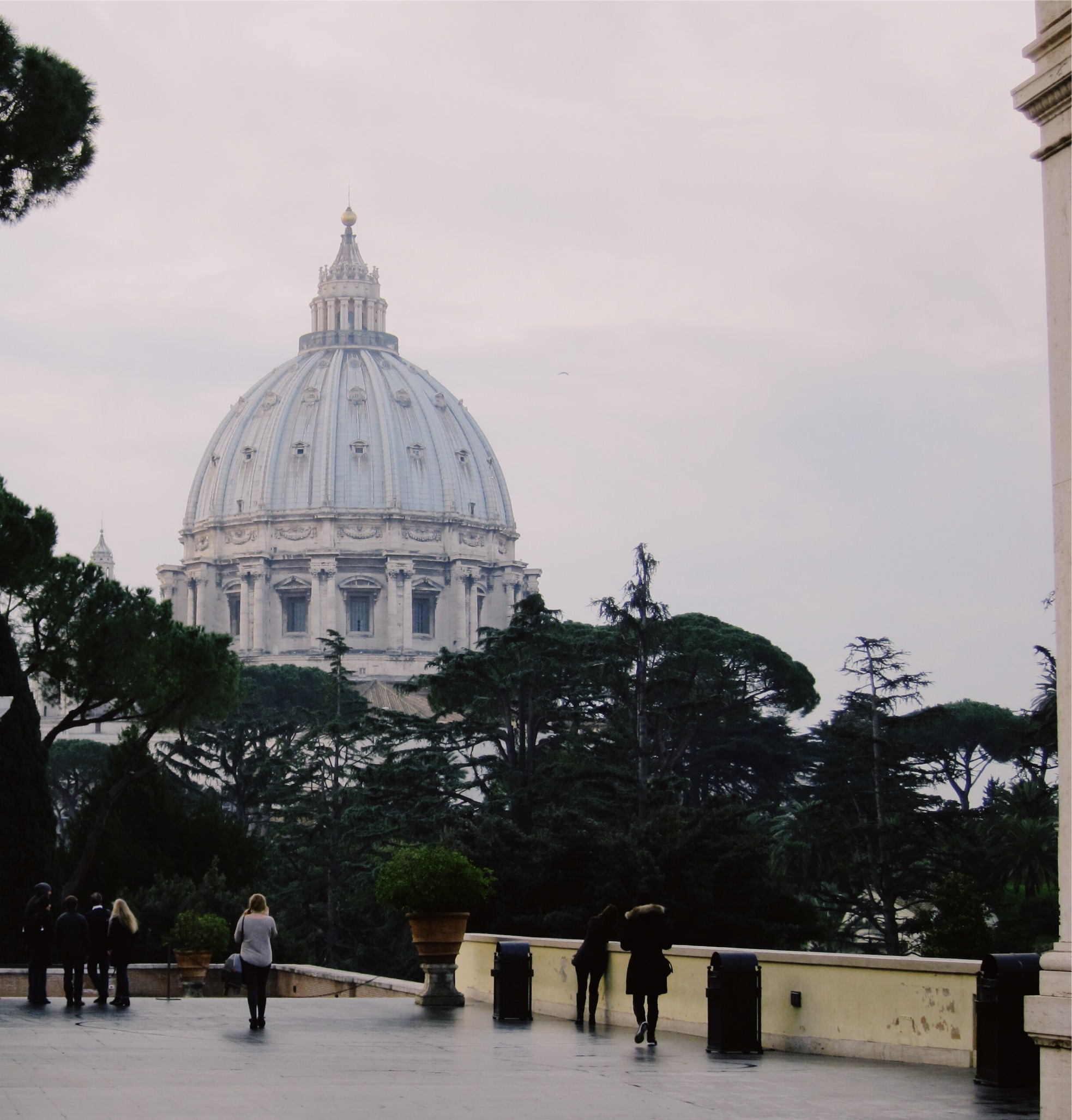 St. Peter's Basilica: View of the Dome
