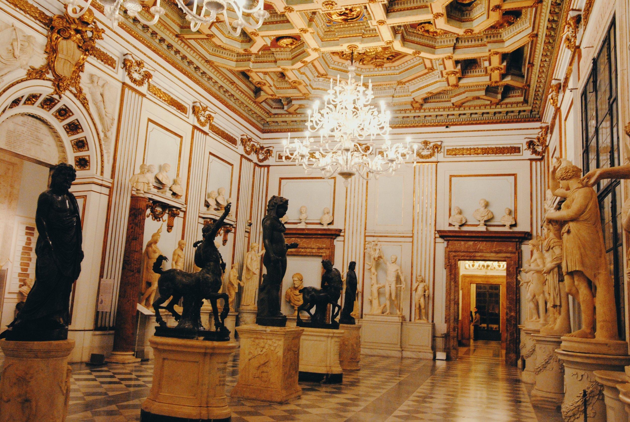 Capitoline Museum: Palazzo Nuovo