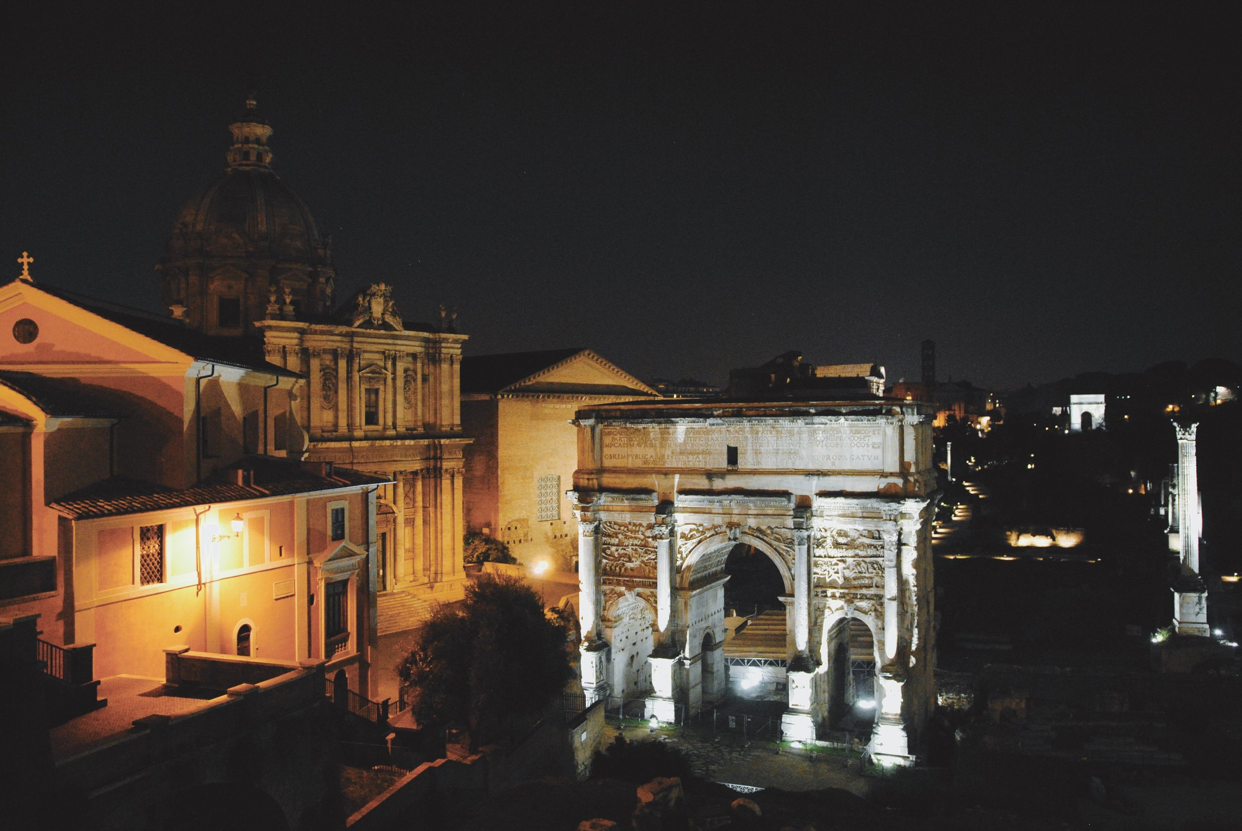 View of the Roman Forum from the Capitoline Museum
