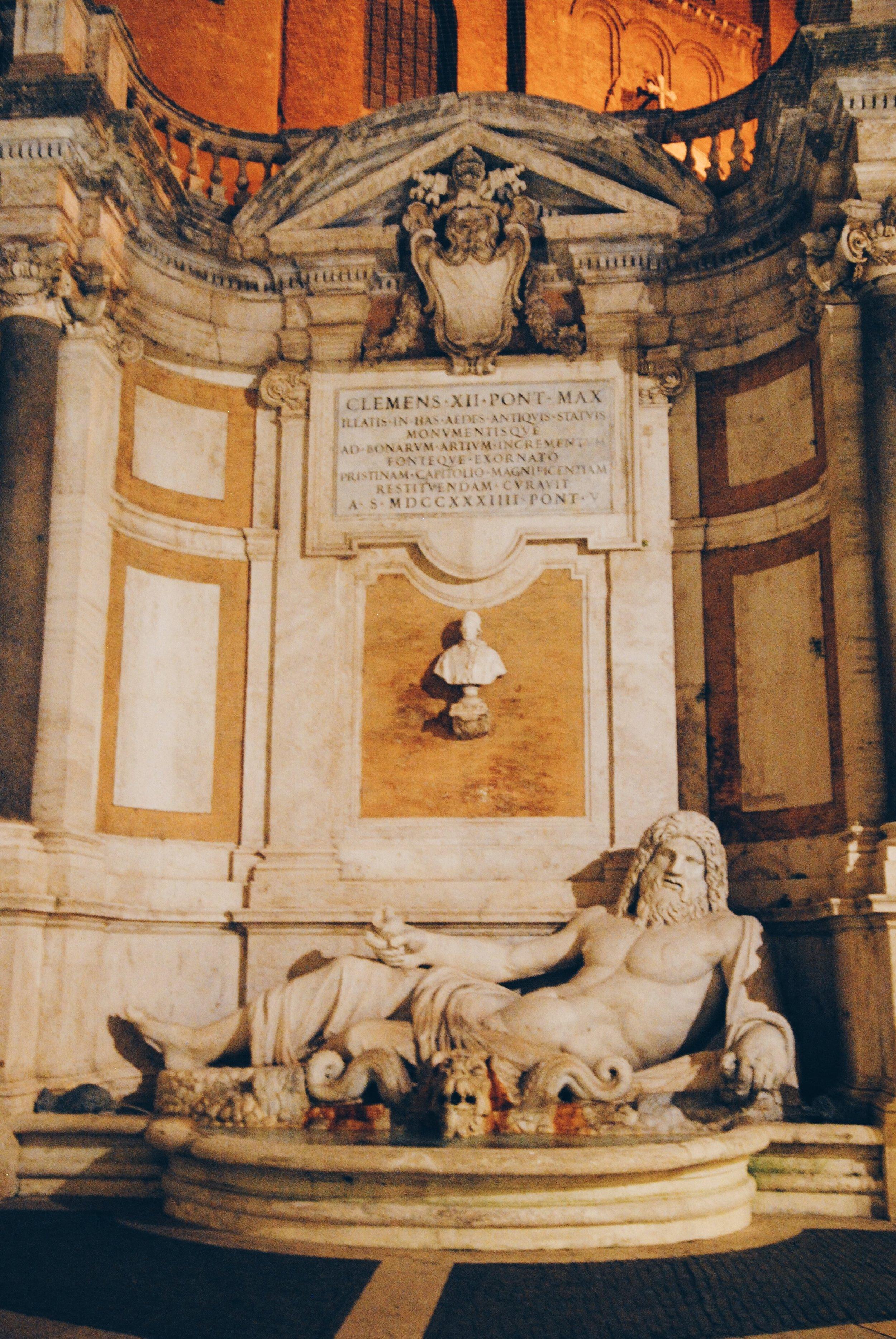 Capitoline Museums: Oceanus Fountain