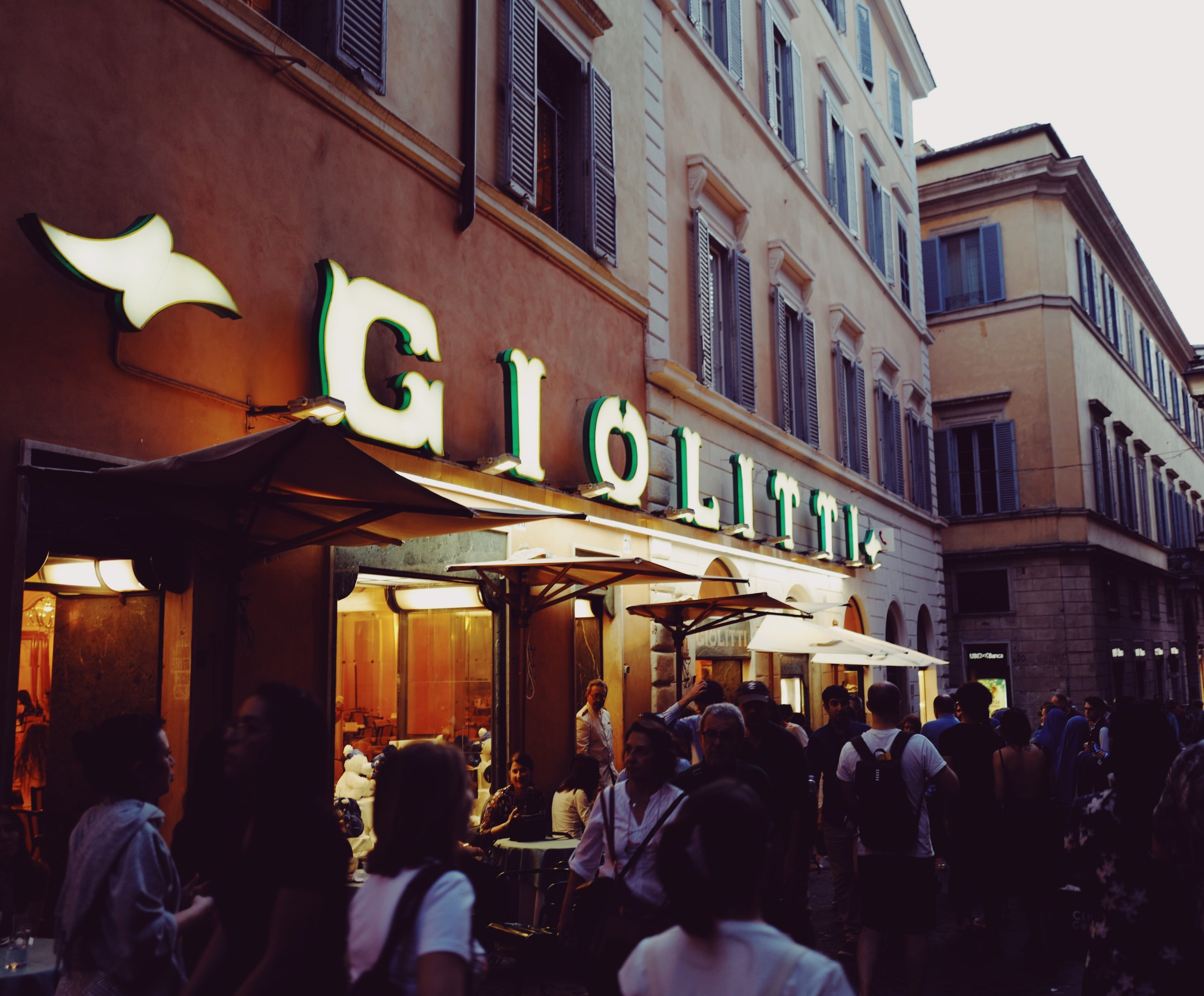 Giolitti: Conveniently located in the center of Rome.