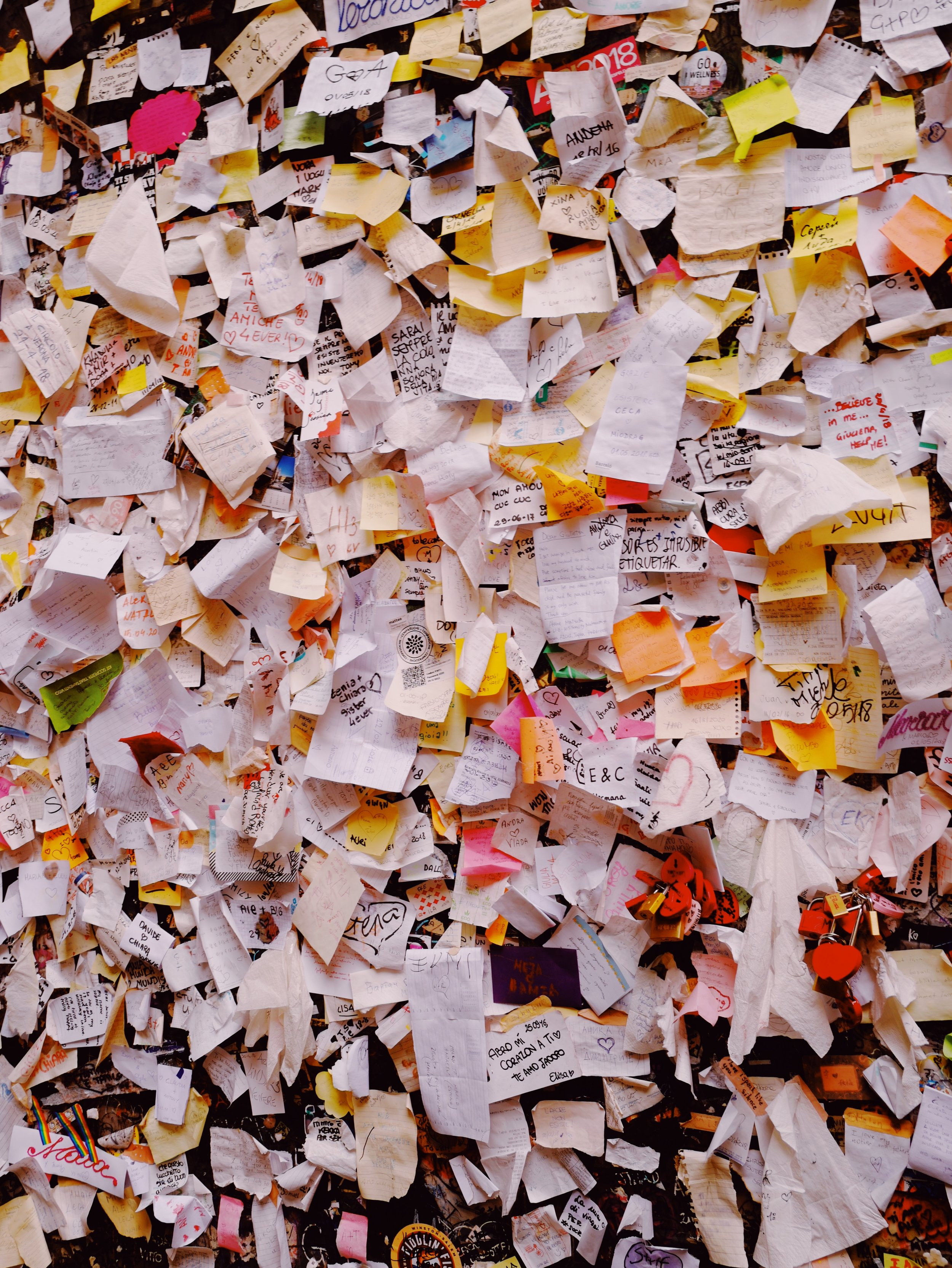 Love letters addressed to Juliet. These letters are replied to by the local organization called  Club di Giulietta  (funded by the city of Verona).