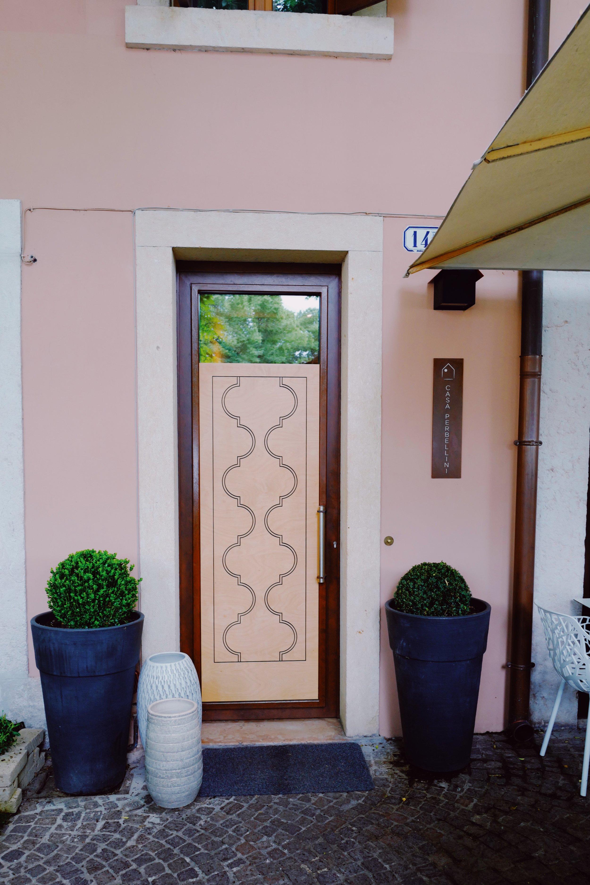 Casa Perbellini Entrance