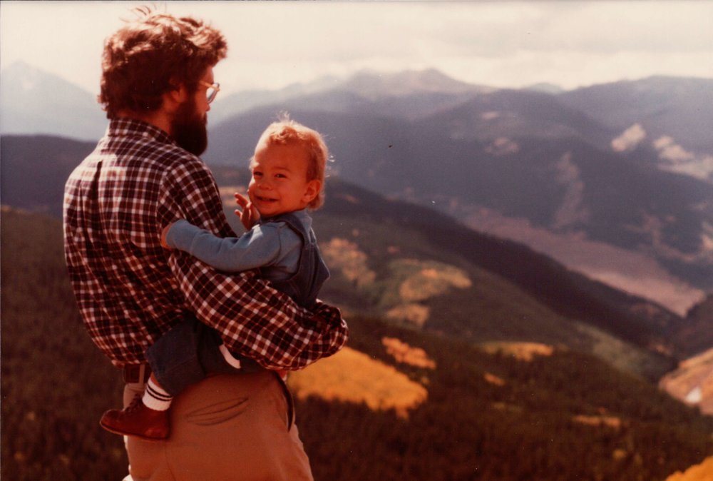 Rutt and Baby Jeff in the Mountains.jpeg