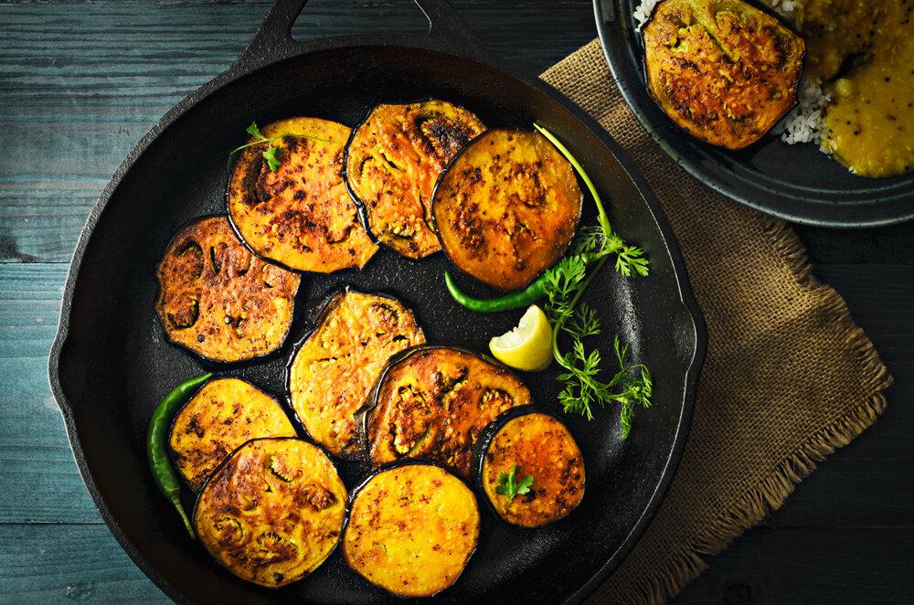 বেগুন ভাজা (Eggplant Fry)