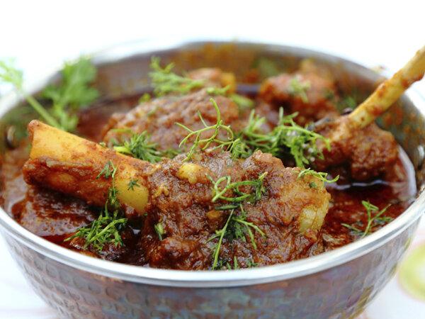 পাঁঠার মাংস (Goat Curry)